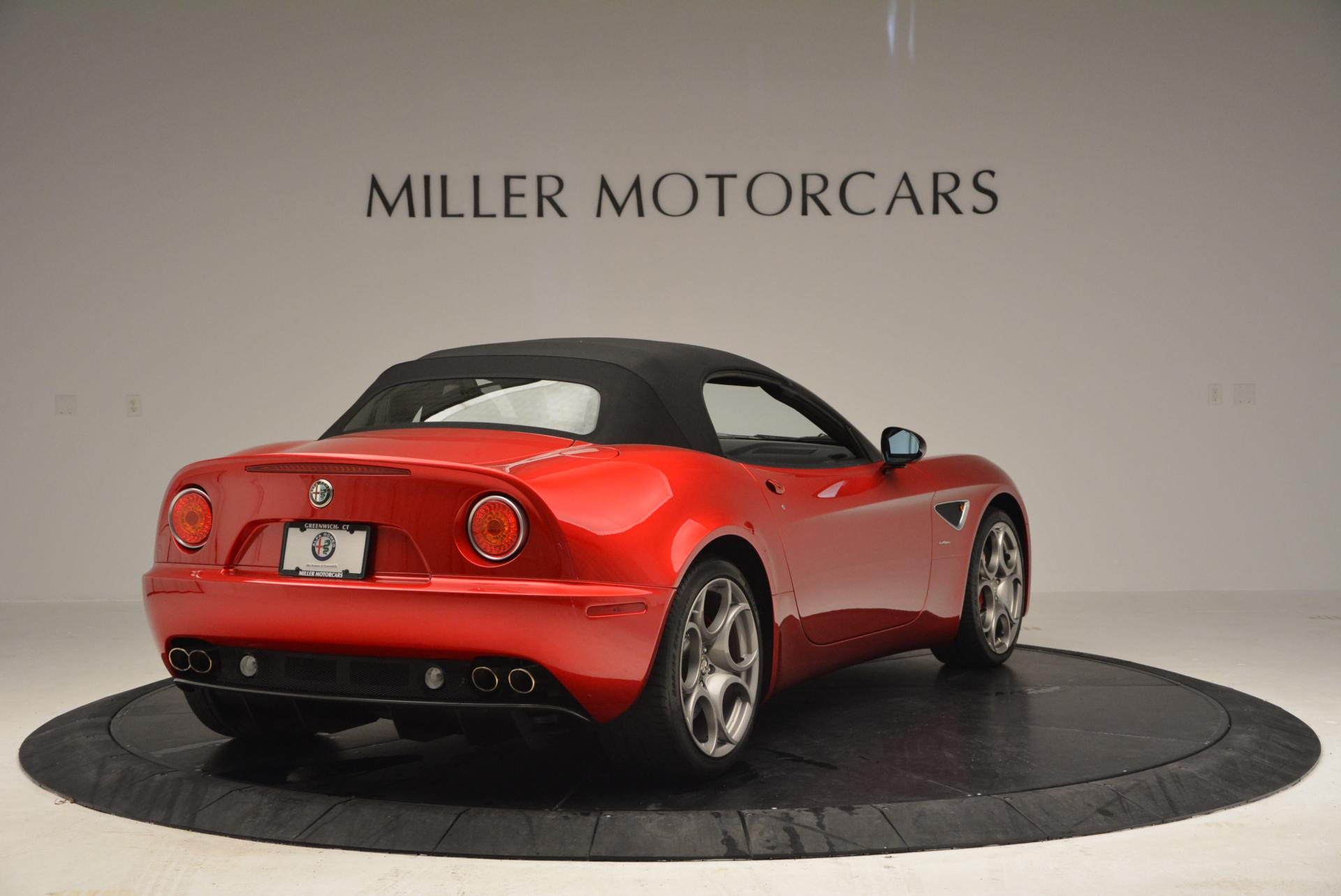 Used 2009 Alfa Romeo 8C COMPETIZIONE Spider For Sale In Westport, CT 1_p19