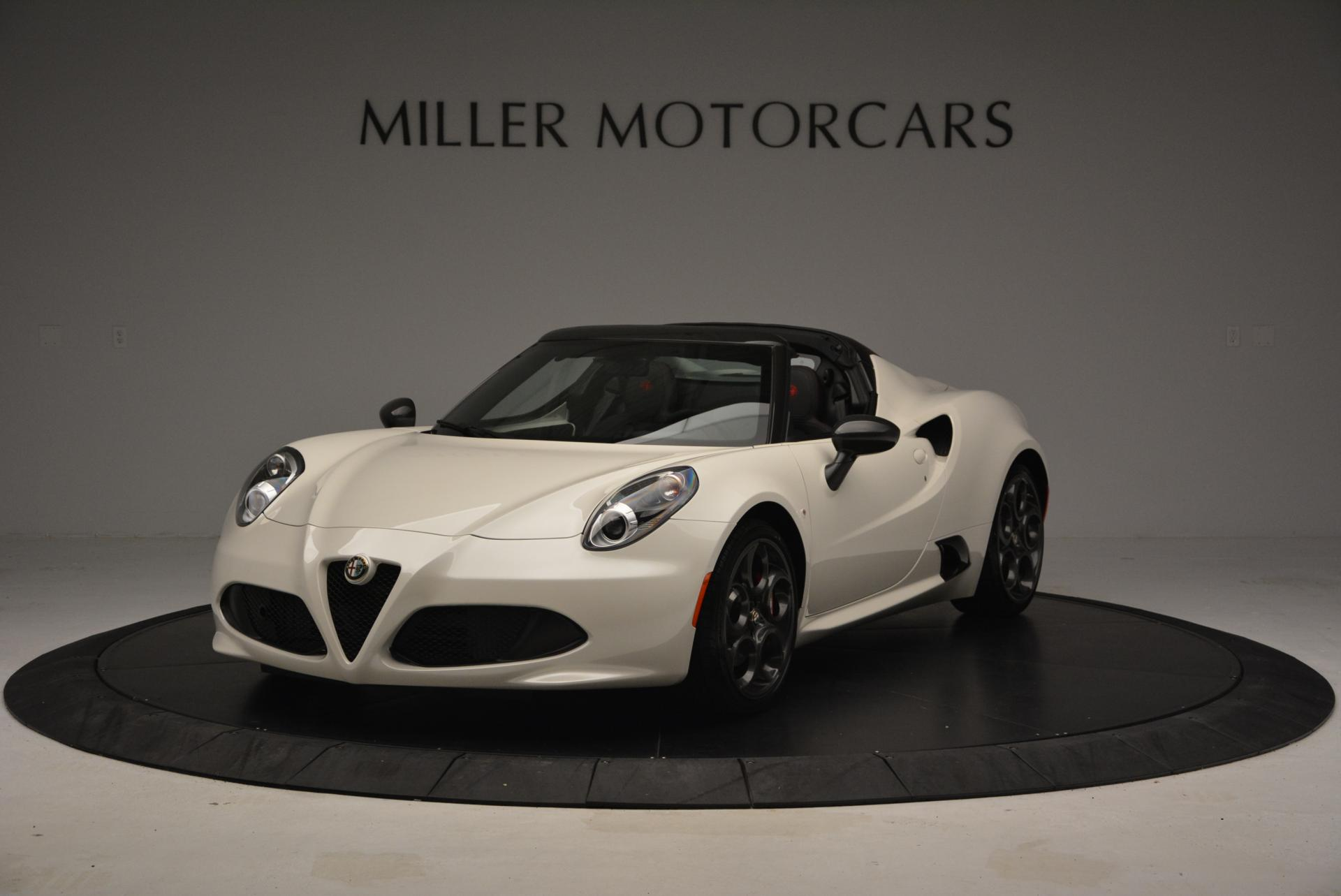 New 2015 Alfa Romeo 4C Spider  For Sale In Westport, CT 10_main