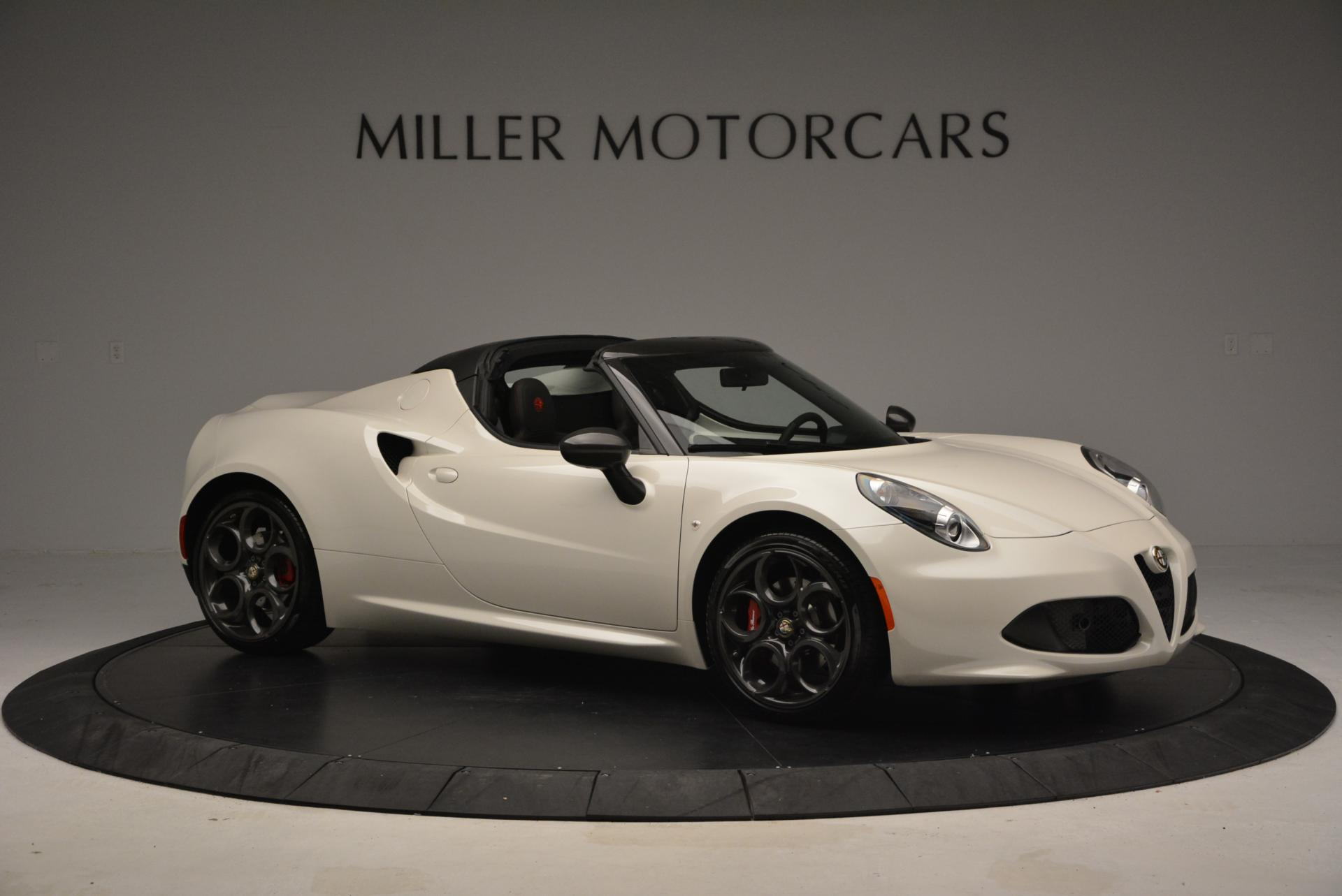 New 2015 Alfa Romeo 4C Spider  For Sale In Westport, CT 10_p10