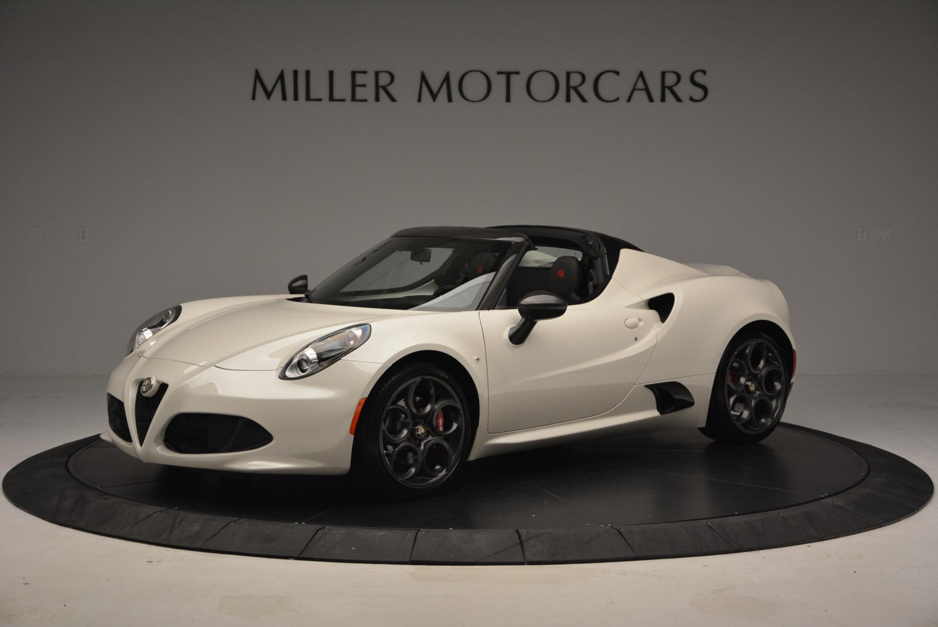 New 2015 Alfa Romeo 4C Spider  For Sale In Westport, CT 10_p2