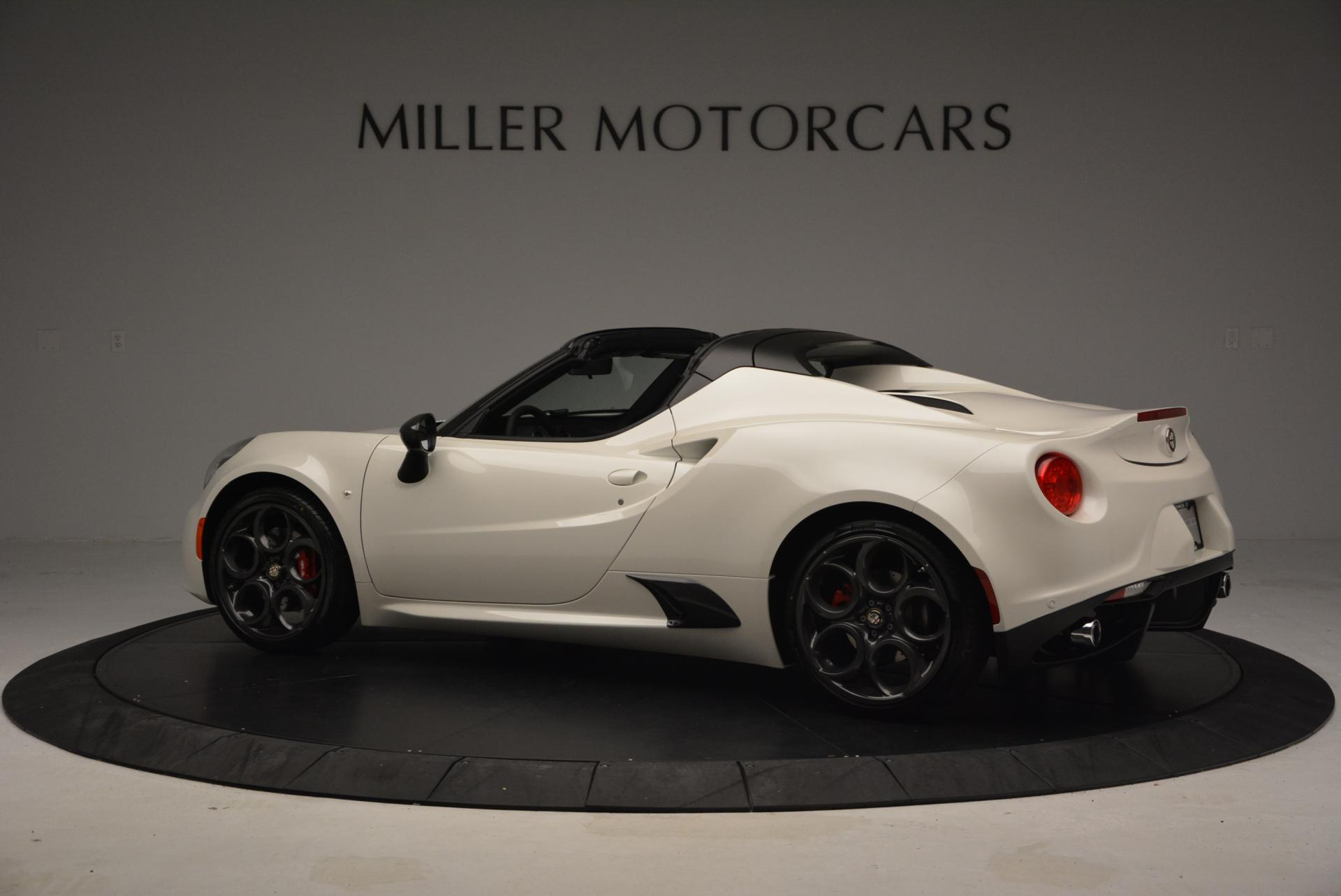 New 2015 Alfa Romeo 4C Spider  For Sale In Westport, CT 10_p4