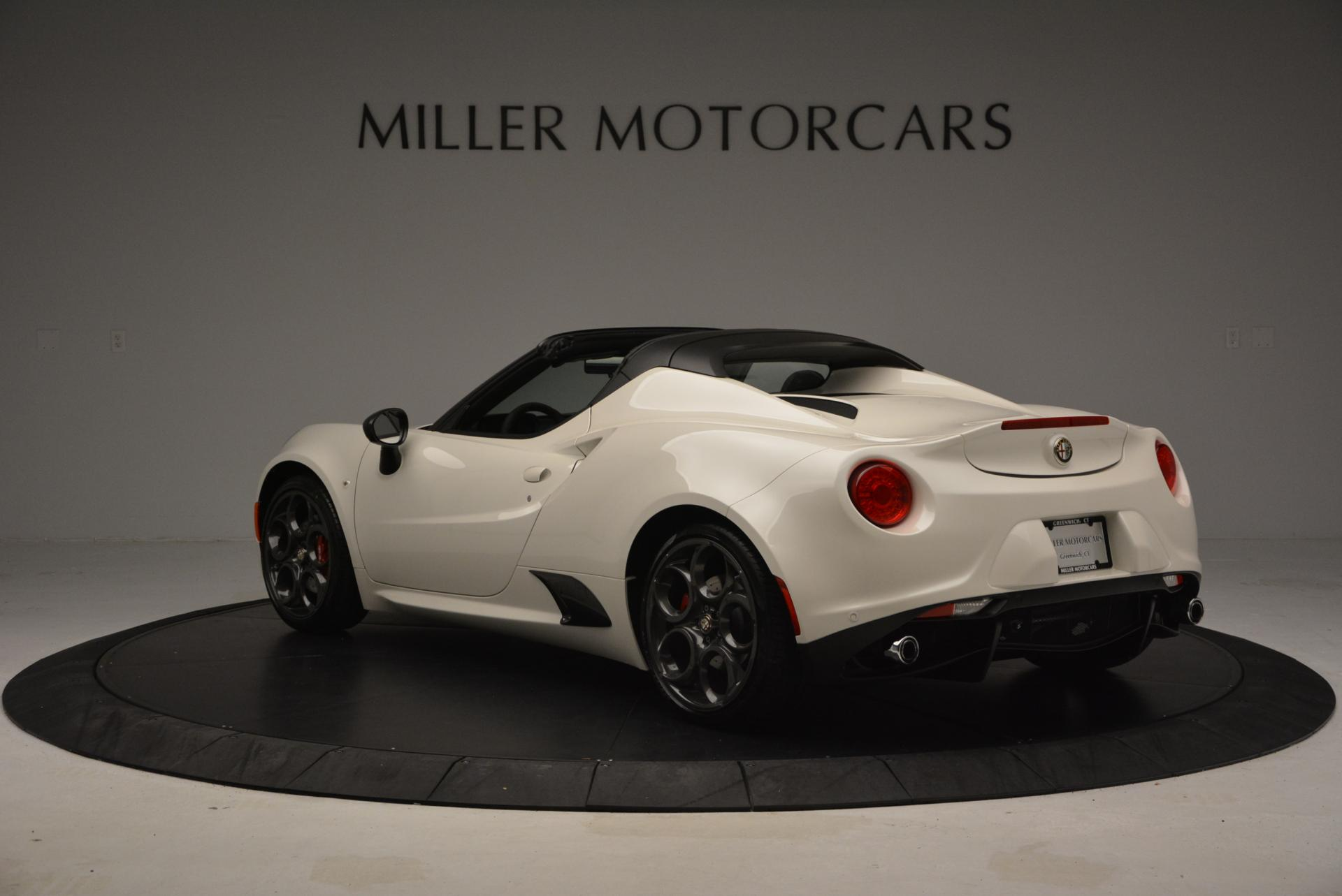 New 2015 Alfa Romeo 4C Spider  For Sale In Westport, CT 10_p5