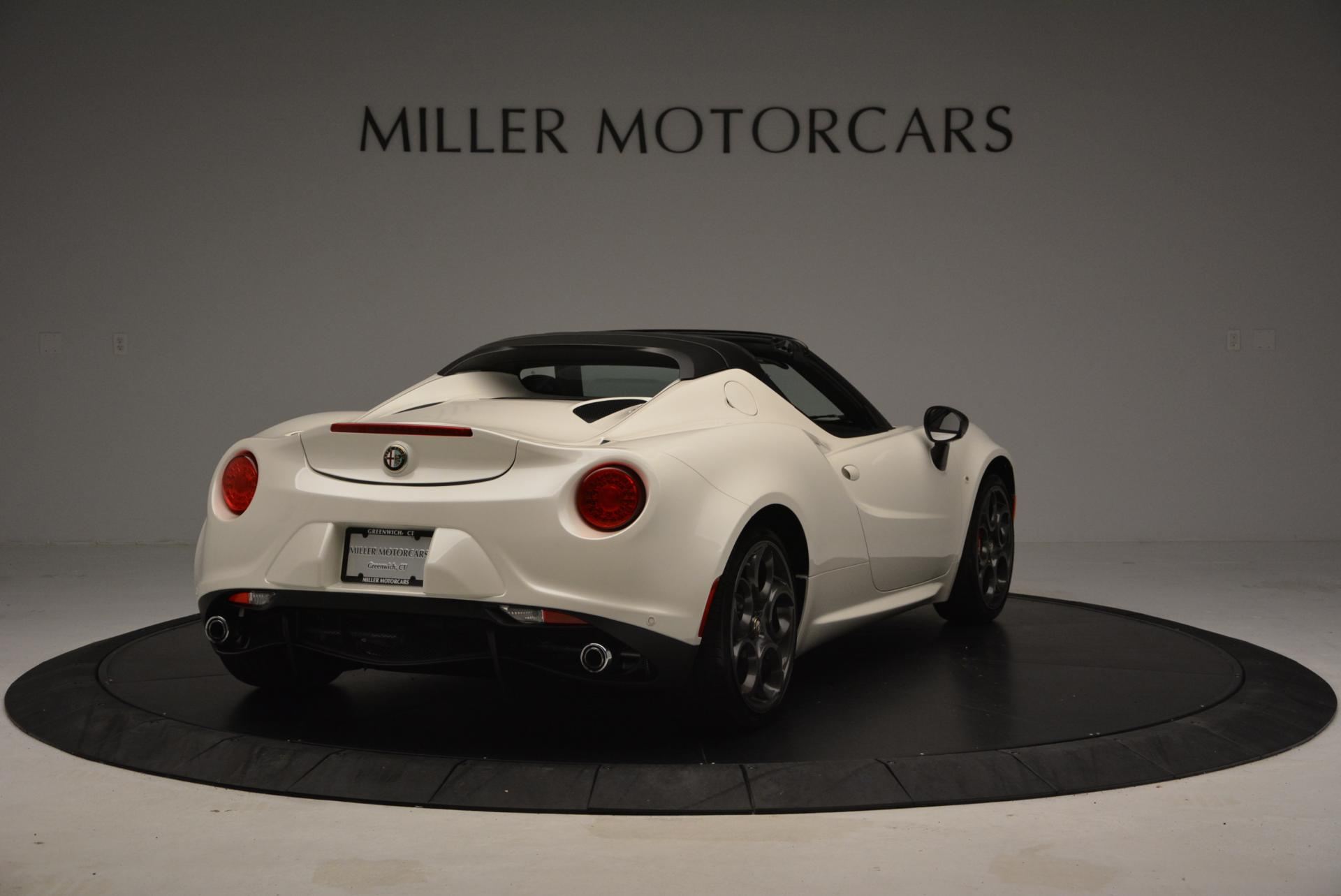 New 2015 Alfa Romeo 4C Spider  For Sale In Westport, CT 10_p7