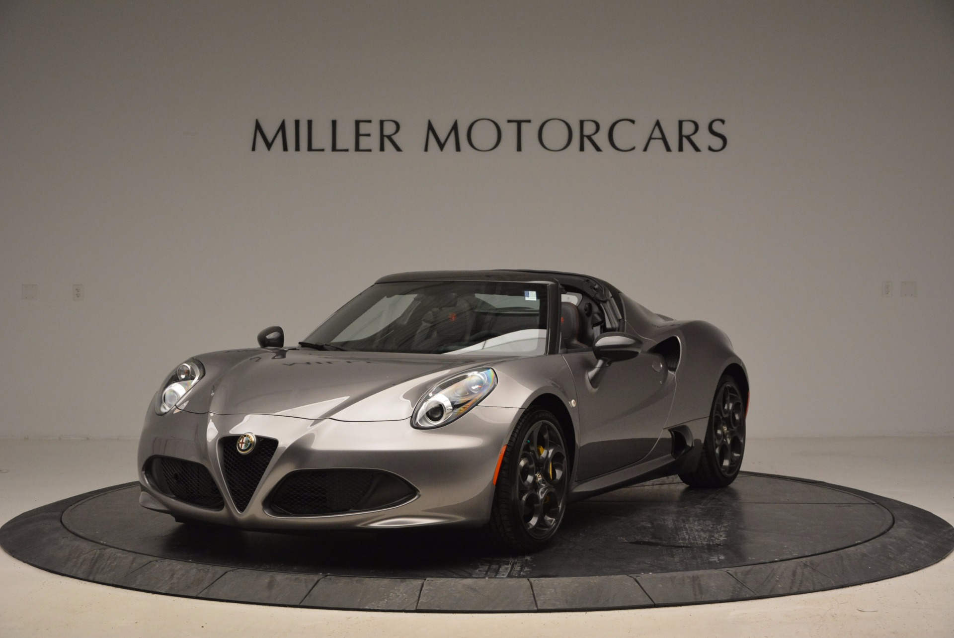 New 2016 Alfa Romeo 4C Spider For Sale In Westport, CT 1004_main