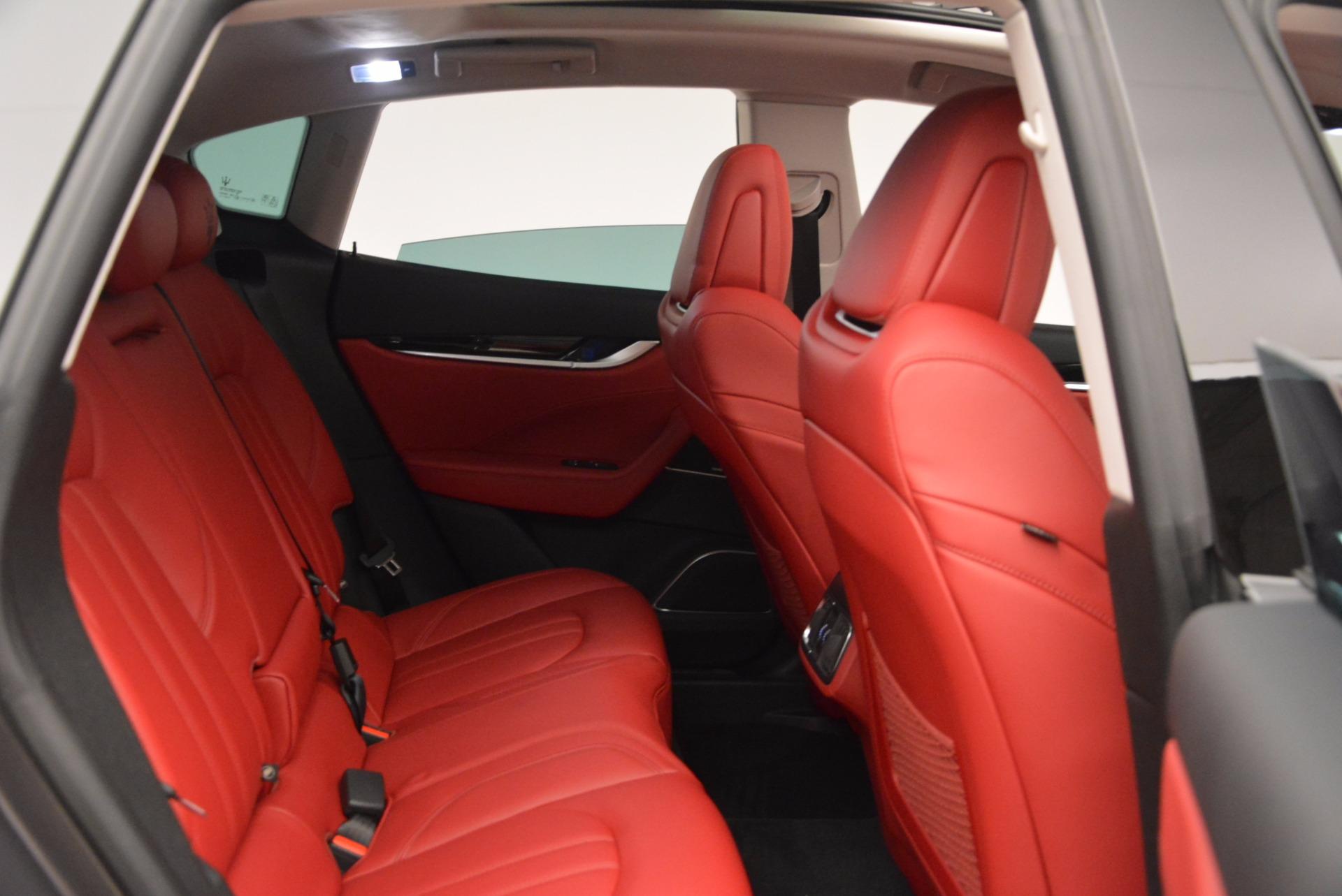 New 2017 Maserati Levante  For Sale In Westport, CT 1017_p20