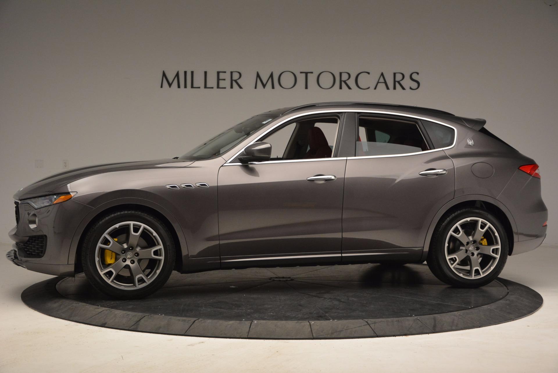 New 2017 Maserati Levante  For Sale In Westport, CT 1017_p3