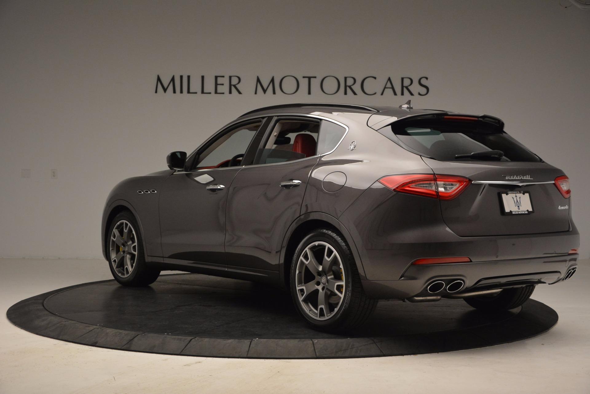 New 2017 Maserati Levante  For Sale In Westport, CT 1017_p4