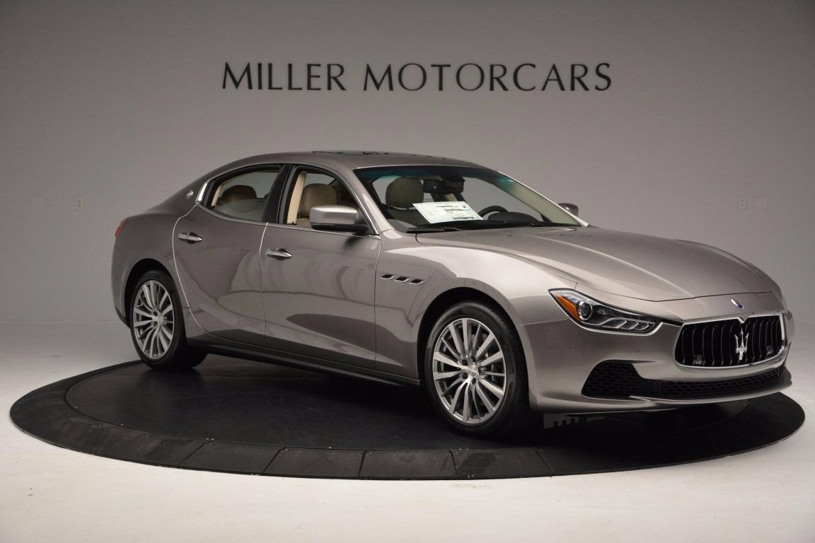 New 2017 Maserati Ghibli S Q4 EX-Loaner For Sale In Westport, CT 1018_p10