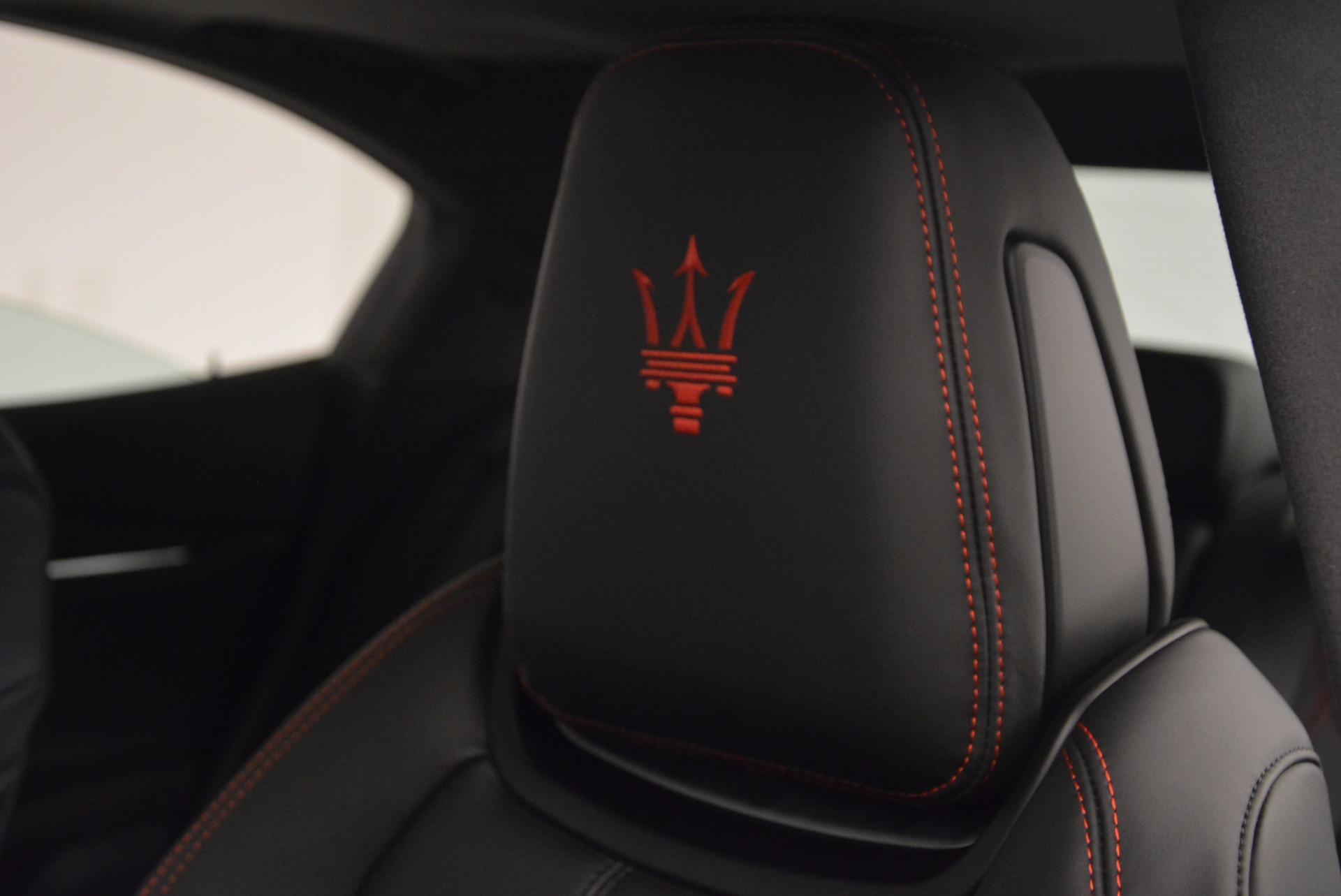 New 2017 Maserati Ghibli S Q4 For Sale In Westport, CT 1022_p19
