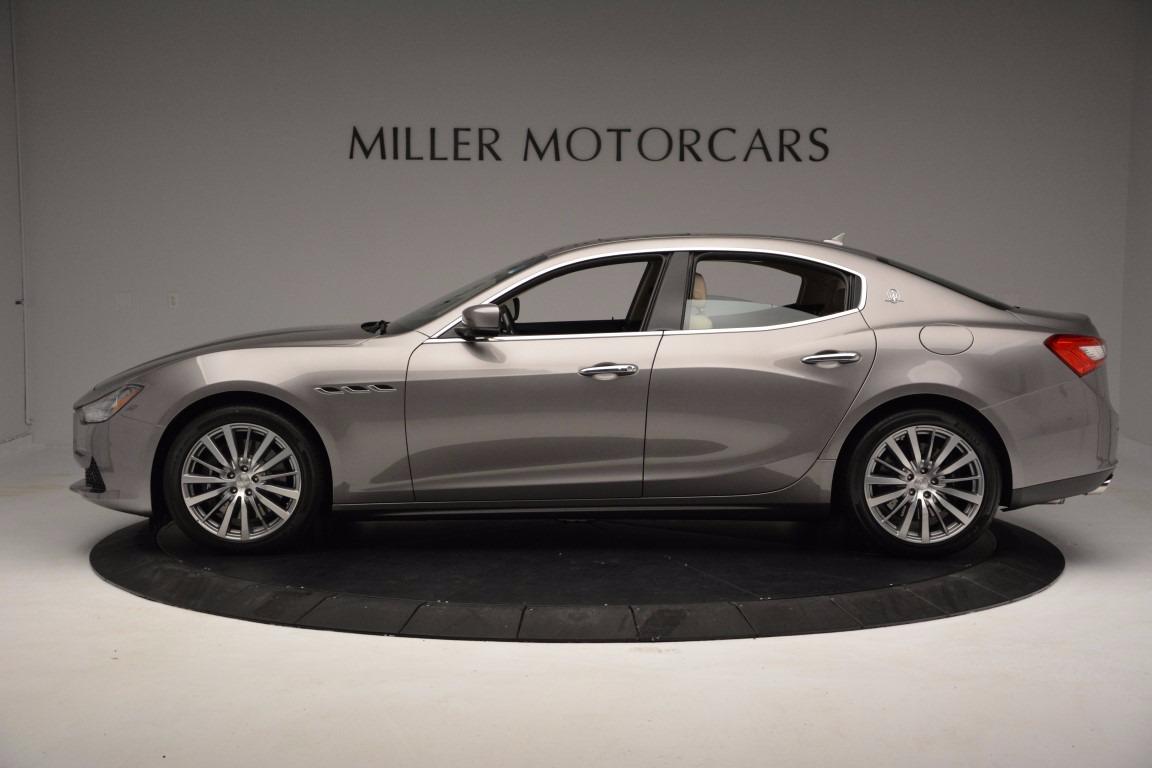 New 2017 Maserati Ghibli S Q4 For Sale In Westport, CT 1028_p3