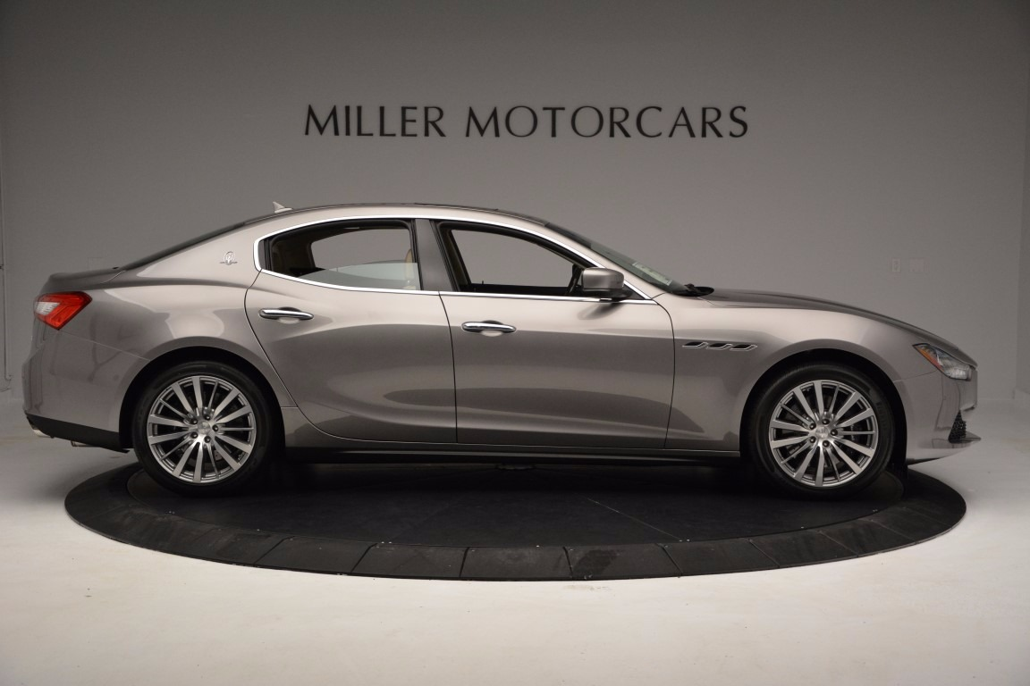 New 2017 Maserati Ghibli S Q4 For Sale In Westport, CT 1028_p9