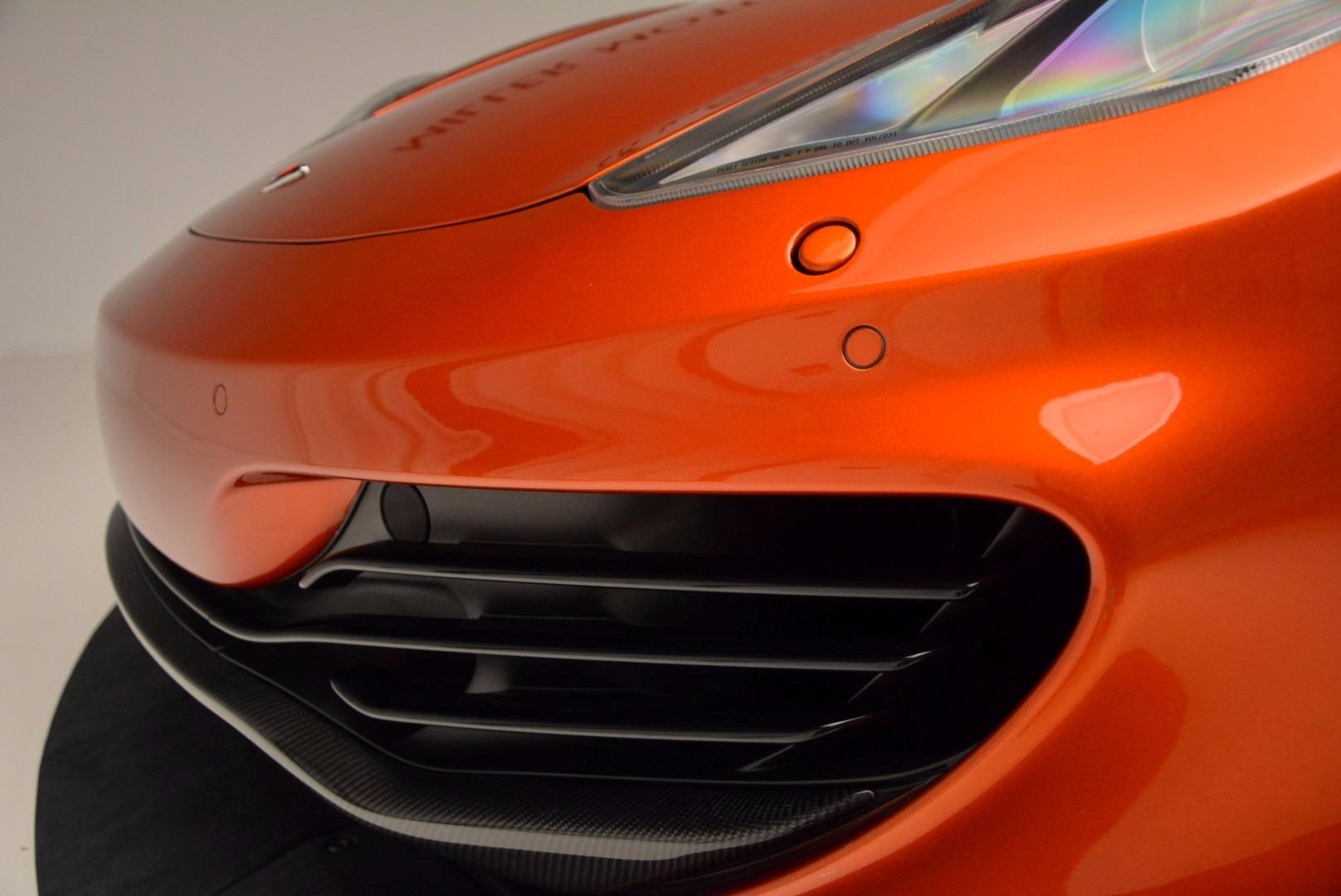 Used 2012 McLaren MP4-12C  For Sale In Westport, CT 1035_p16