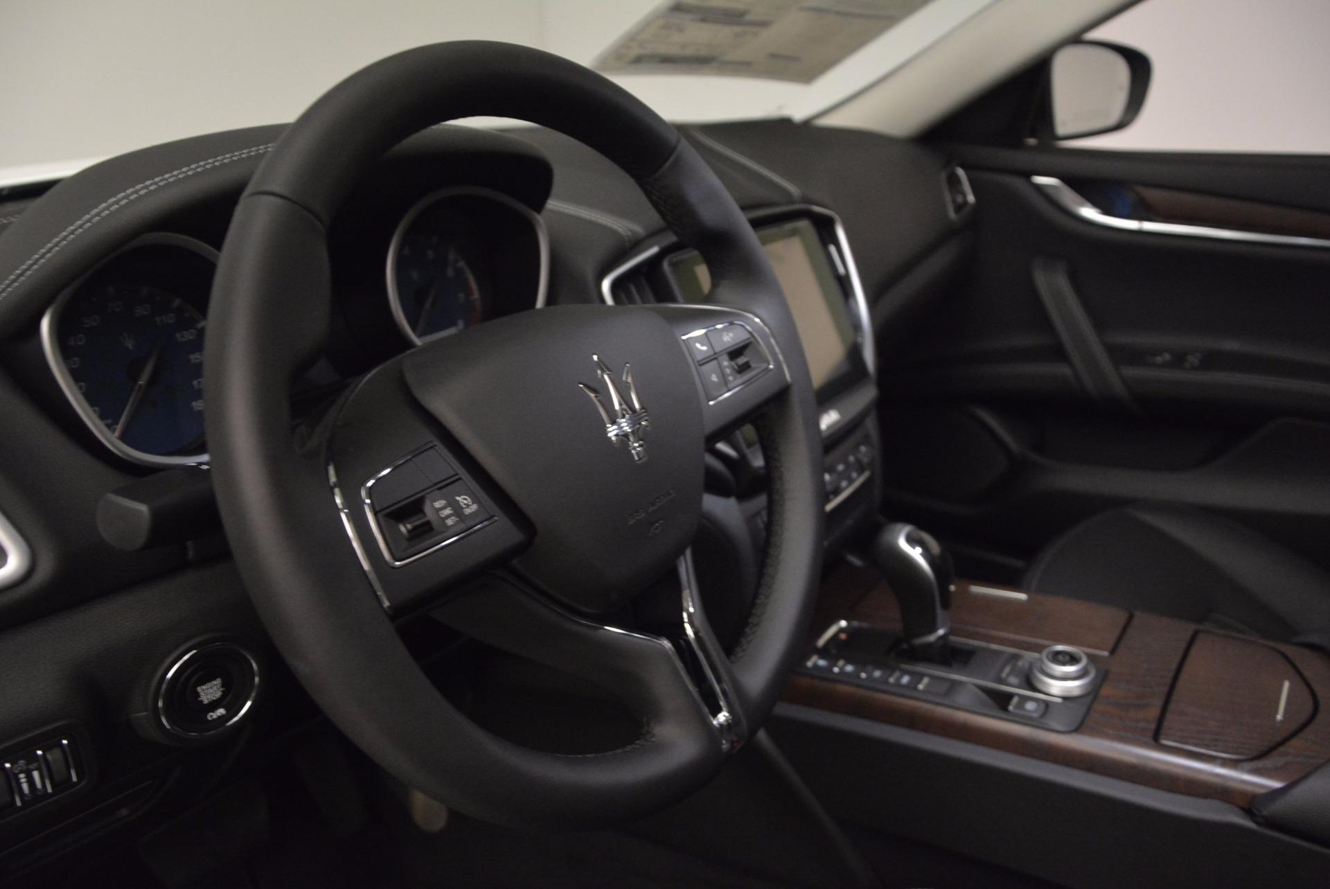 New 2017 Maserati Ghibli SQ4 For Sale In Westport, CT 1036_p16