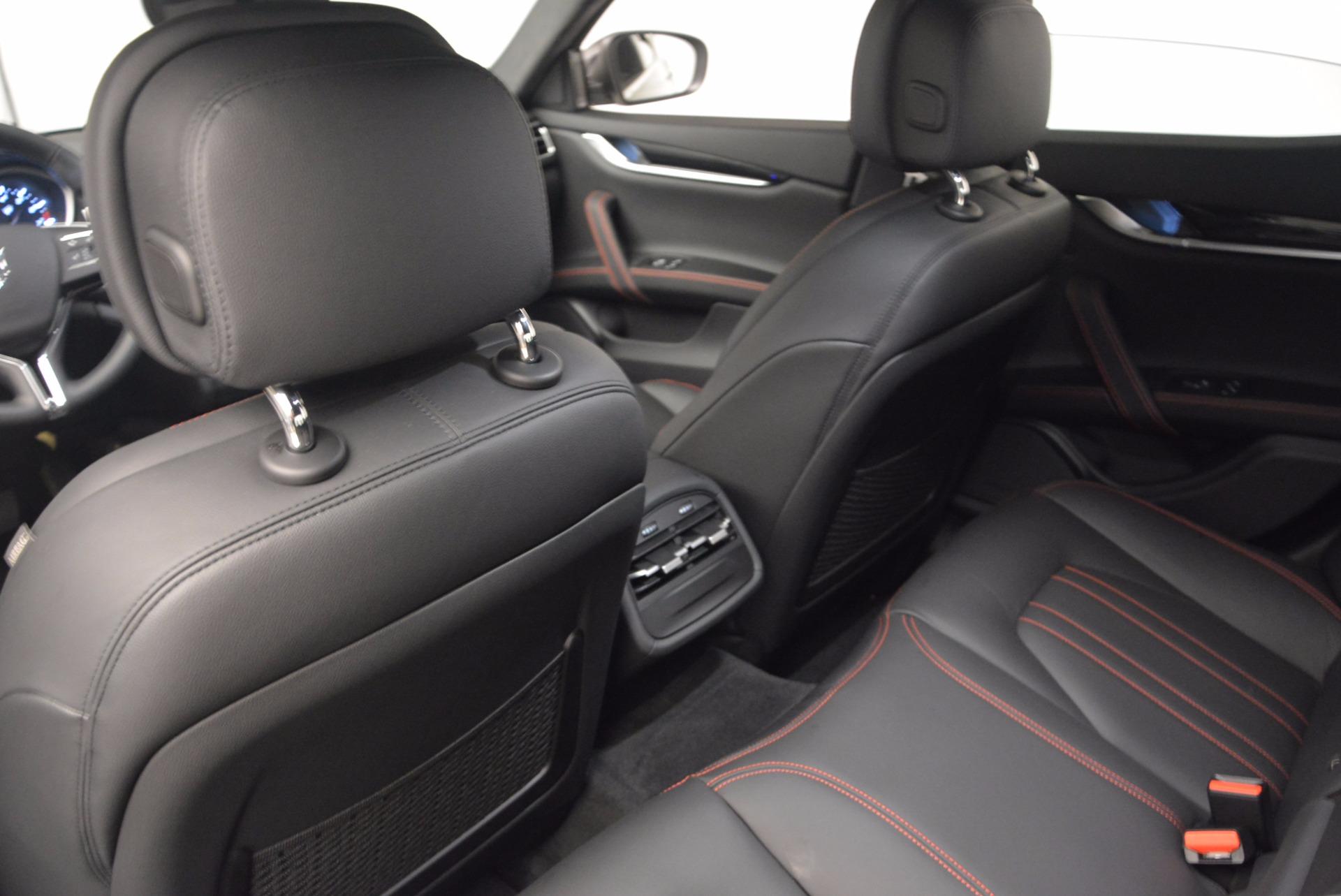 New 2017 Maserati Ghibli SQ4 For Sale In Westport, CT 1043_p17