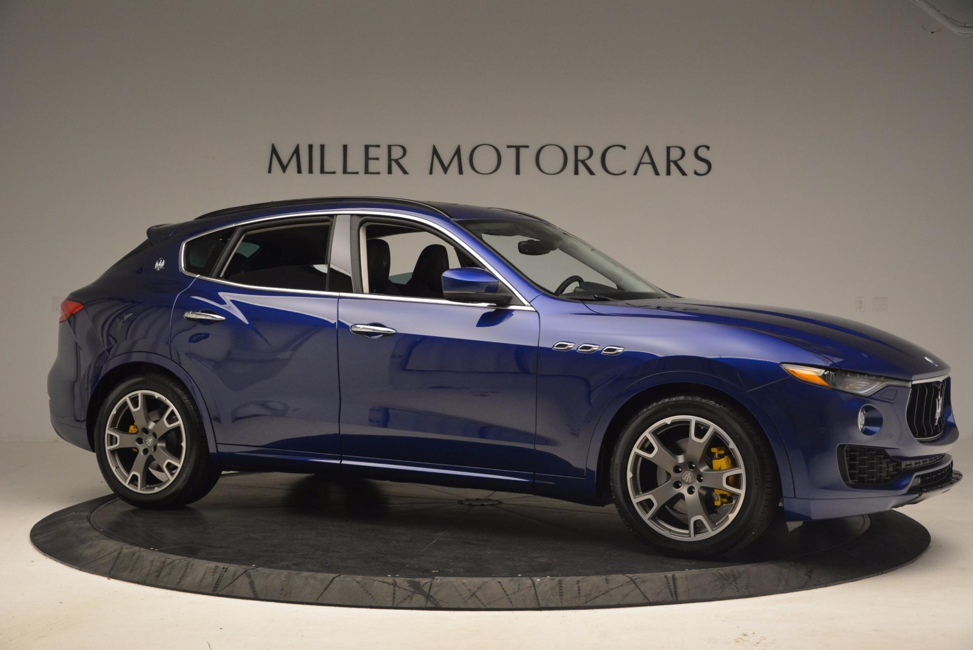 Used 2017 Maserati Levante  For Sale In Westport, CT 1046_p10