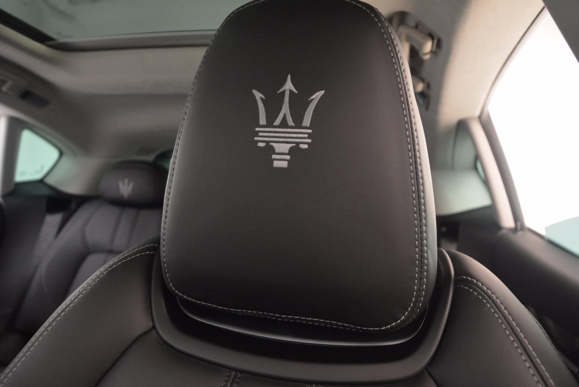 Used 2017 Maserati Levante  For Sale In Westport, CT 1046_p17
