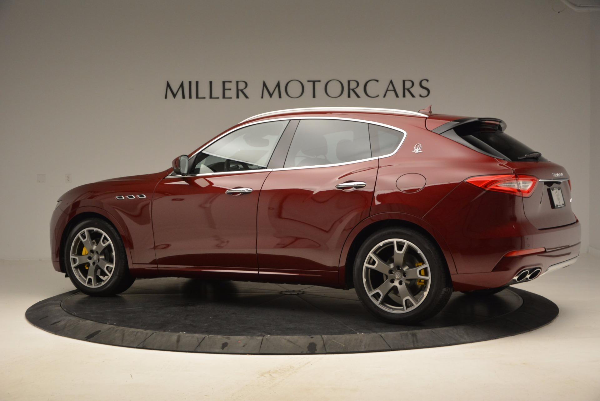 New 2017 Maserati Levante  For Sale In Westport, CT 1047_p4