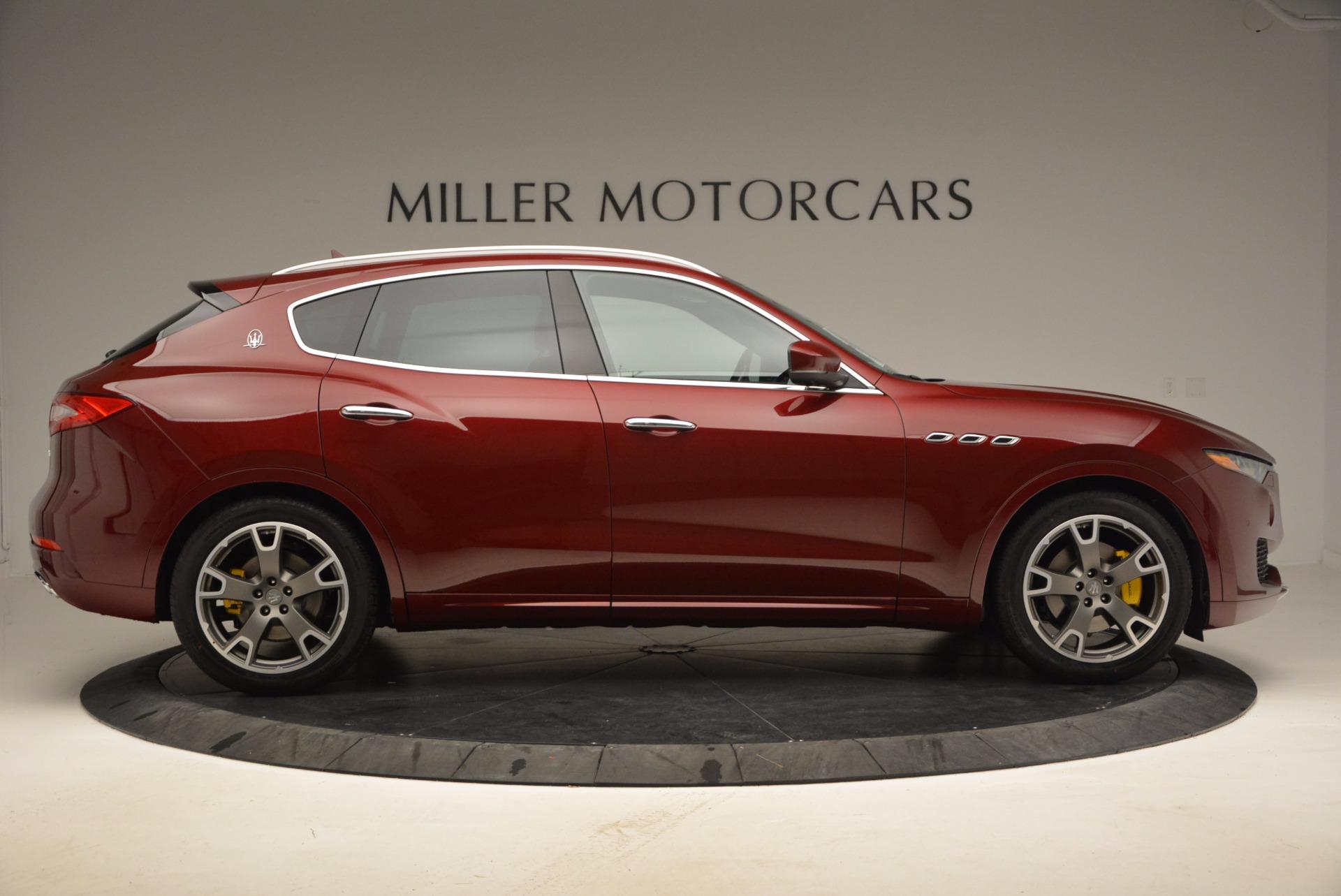 New 2017 Maserati Levante  For Sale In Westport, CT 1047_p9