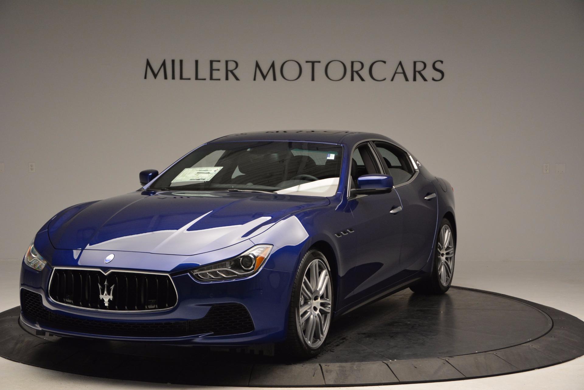 New 2017 Maserati Ghibli S Q4 For Sale In Westport, CT 1049_main