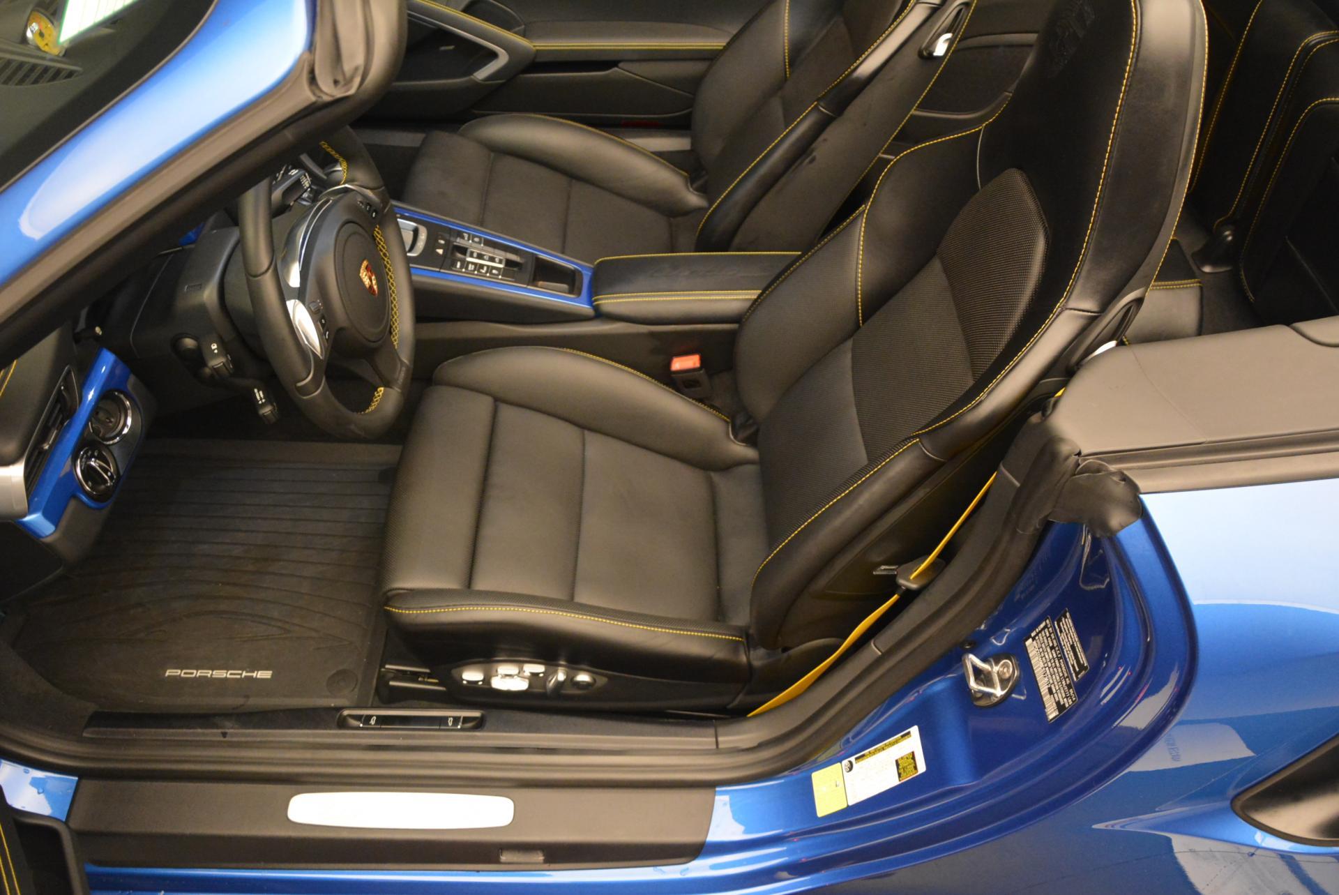 Used 2014 Porsche 911 Turbo S For Sale In Westport, CT 105_p20