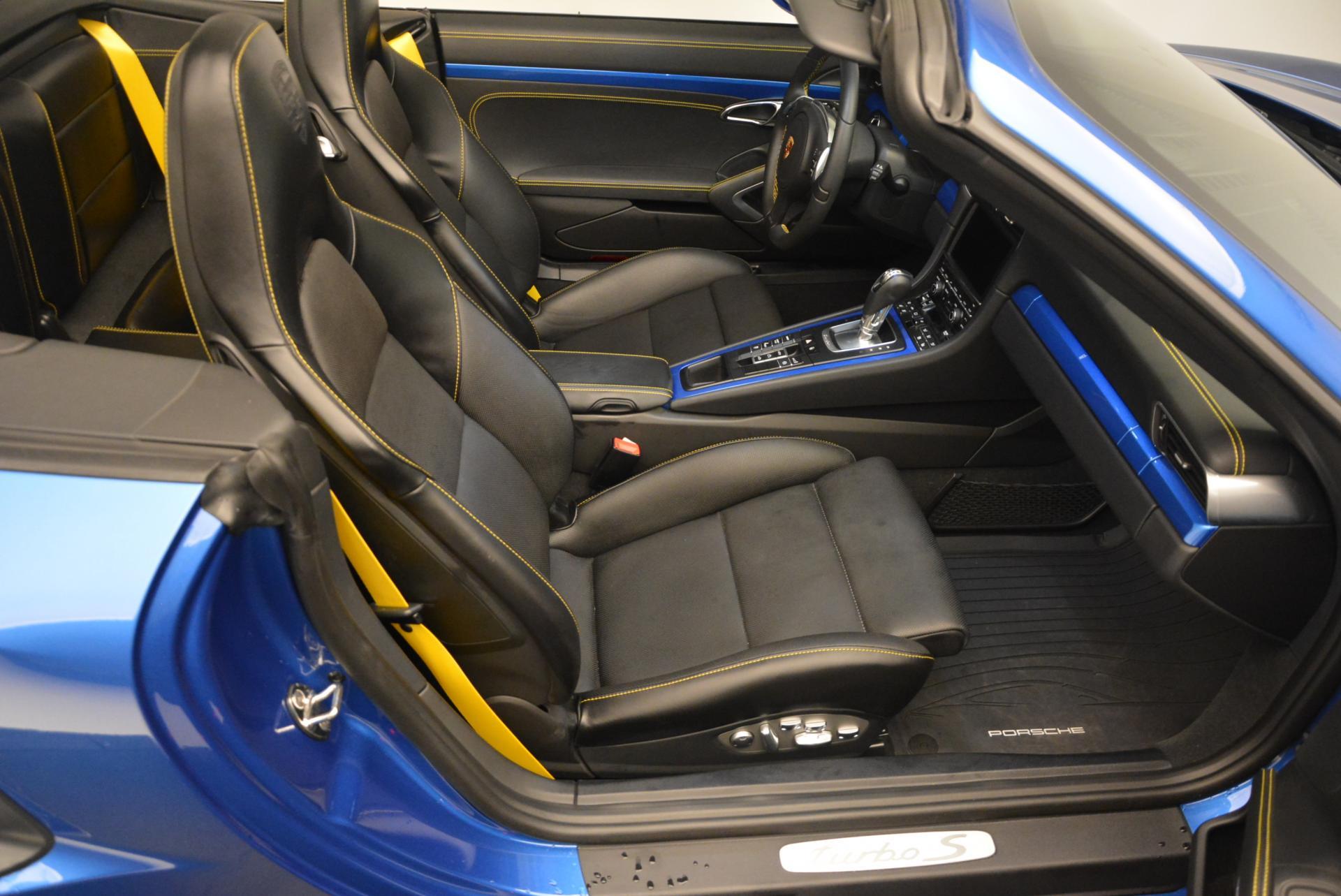 Used 2014 Porsche 911 Turbo S For Sale In Westport, CT 105_p22