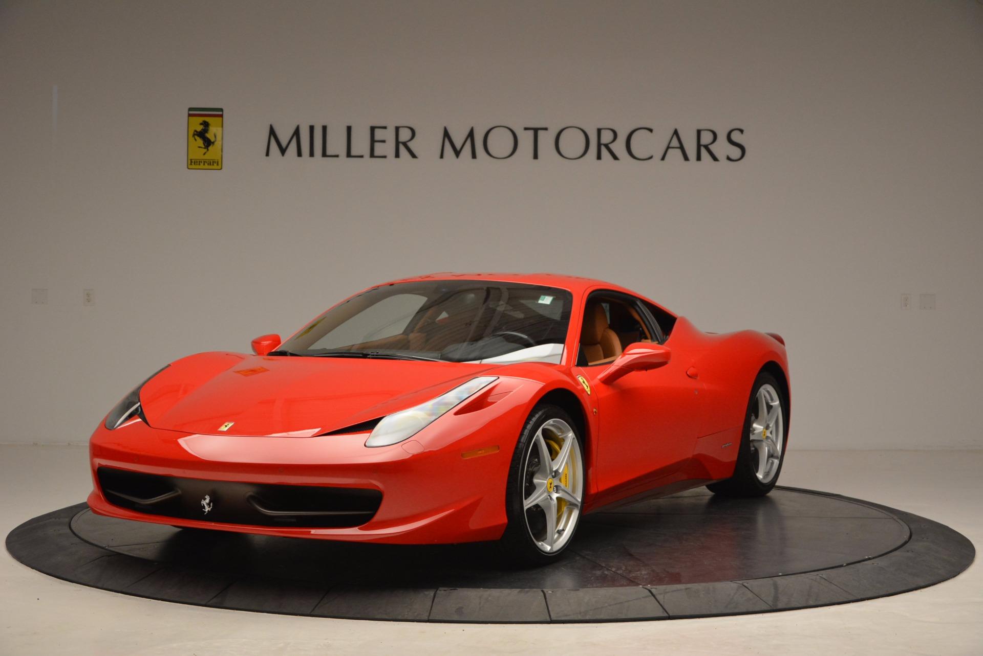 Used 2011 Ferrari 458 Italia  For Sale In Westport, CT 1054_main