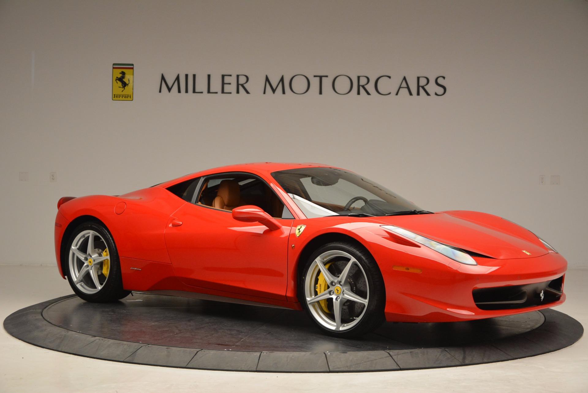 Used 2011 Ferrari 458 Italia  For Sale In Westport, CT 1054_p10