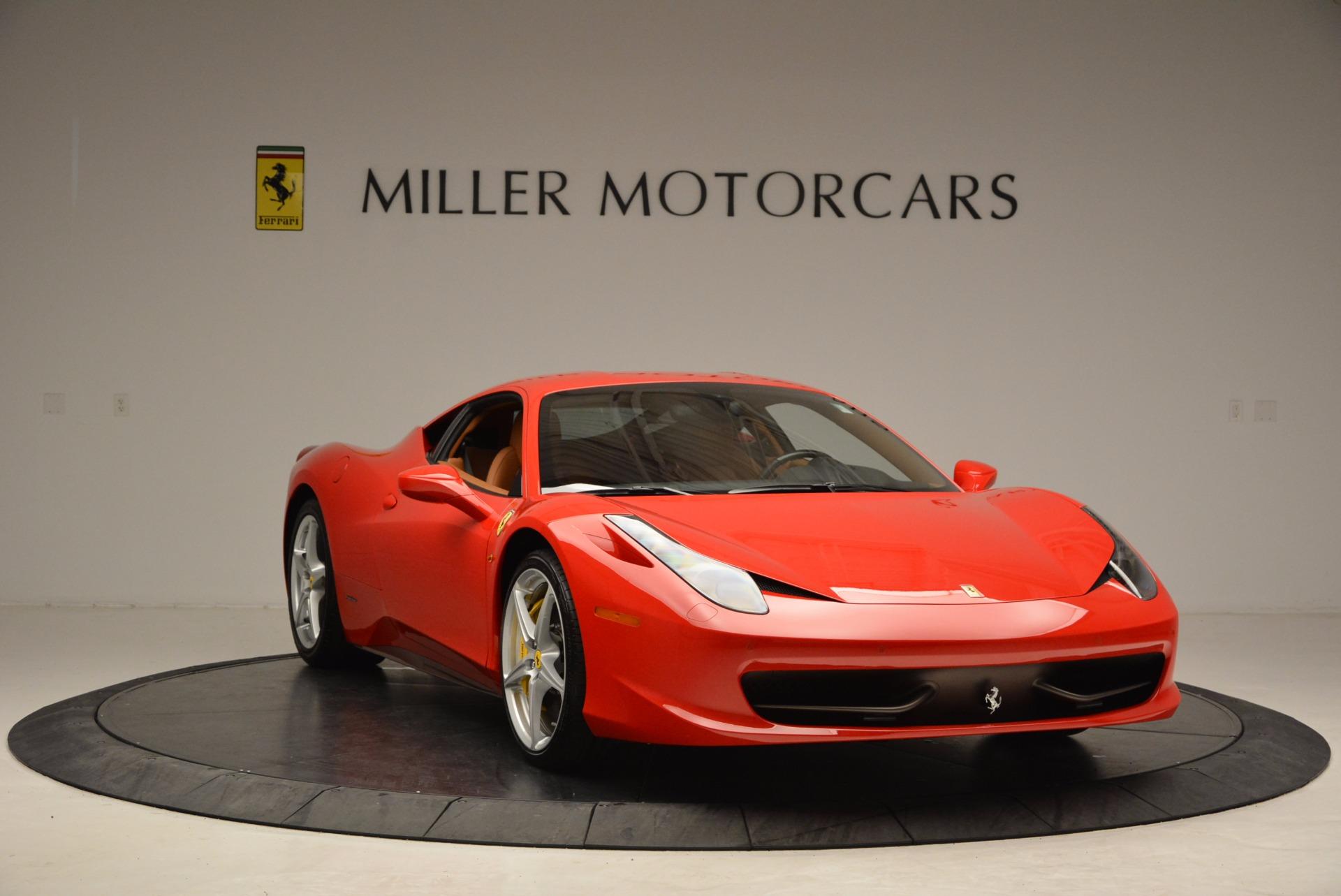 Used 2011 Ferrari 458 Italia  For Sale In Westport, CT 1054_p11