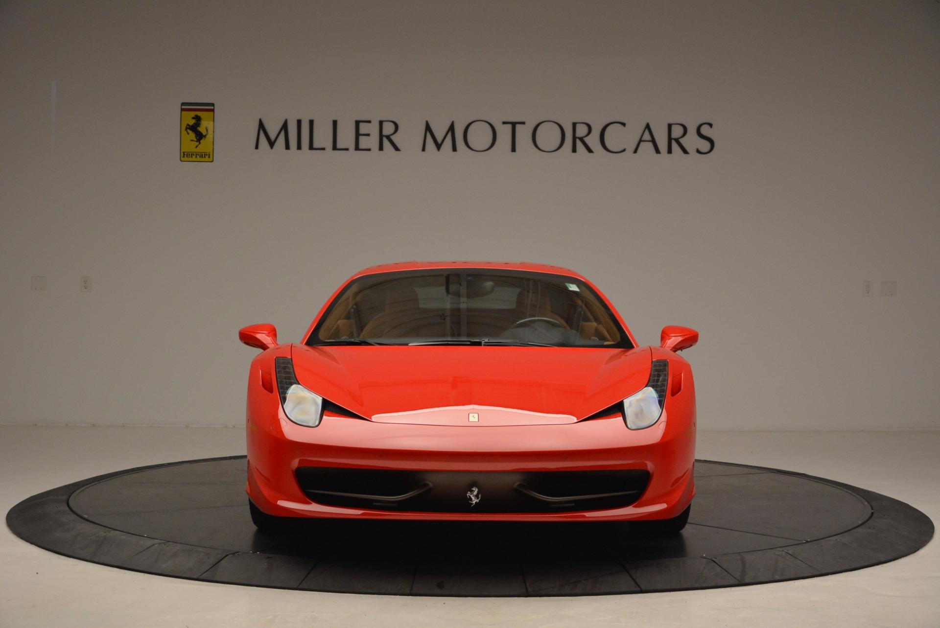 Used 2011 Ferrari 458 Italia  For Sale In Westport, CT 1054_p12