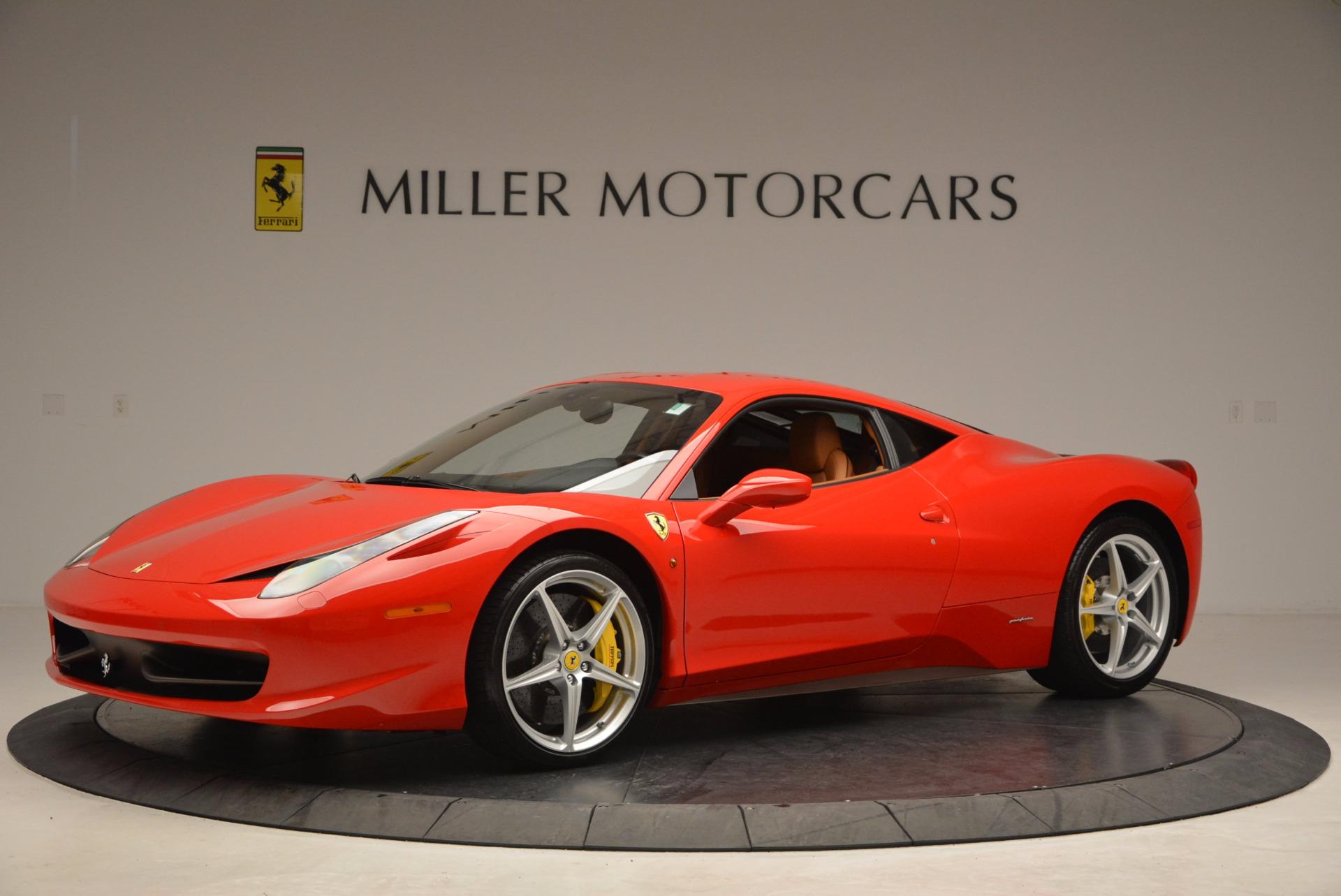 Used 2011 Ferrari 458 Italia  For Sale In Westport, CT 1054_p2