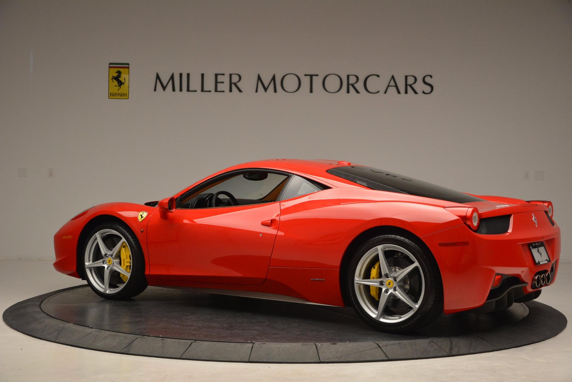 Used 2011 Ferrari 458 Italia  For Sale In Westport, CT 1054_p4