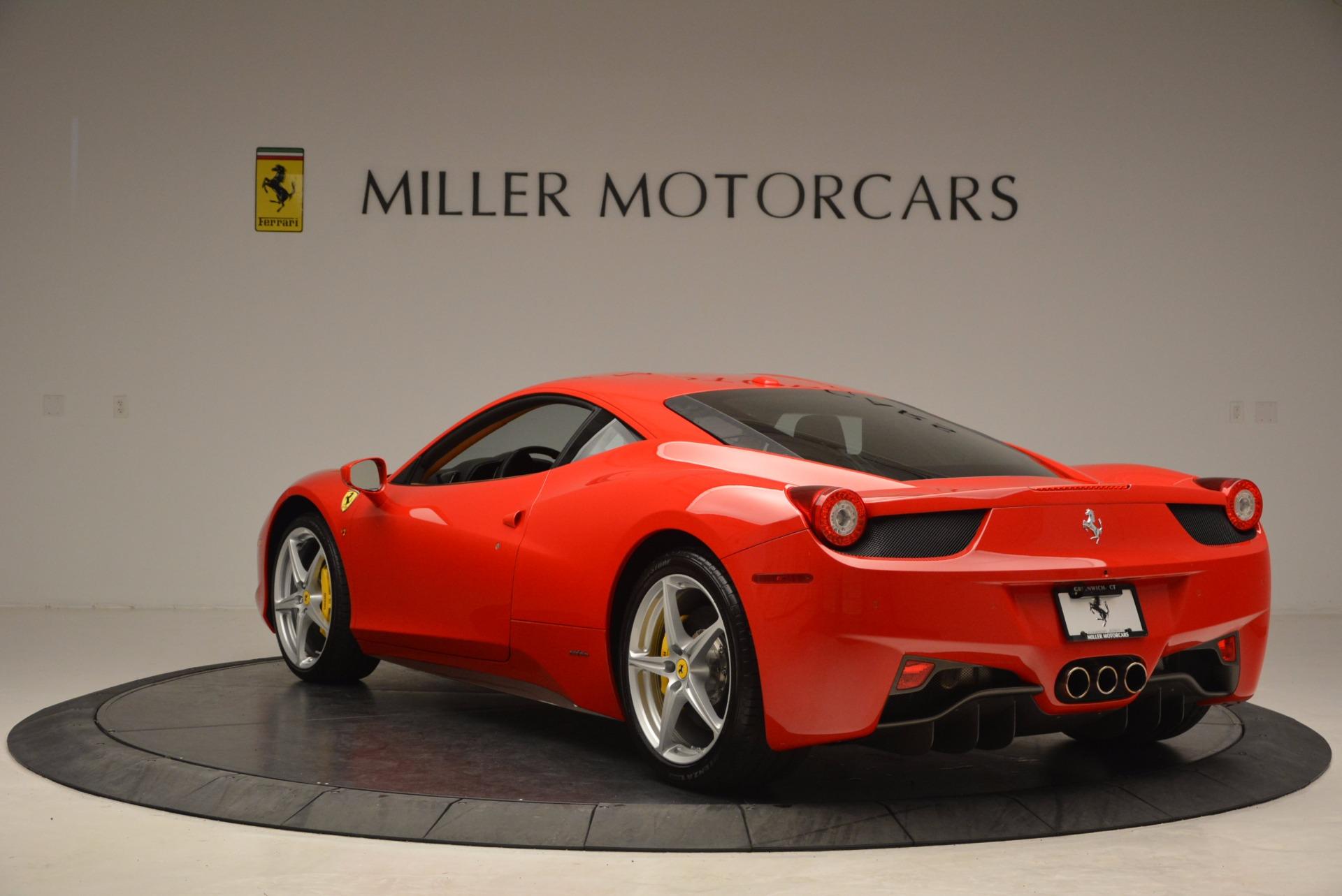 Used 2011 Ferrari 458 Italia  For Sale In Westport, CT 1054_p5