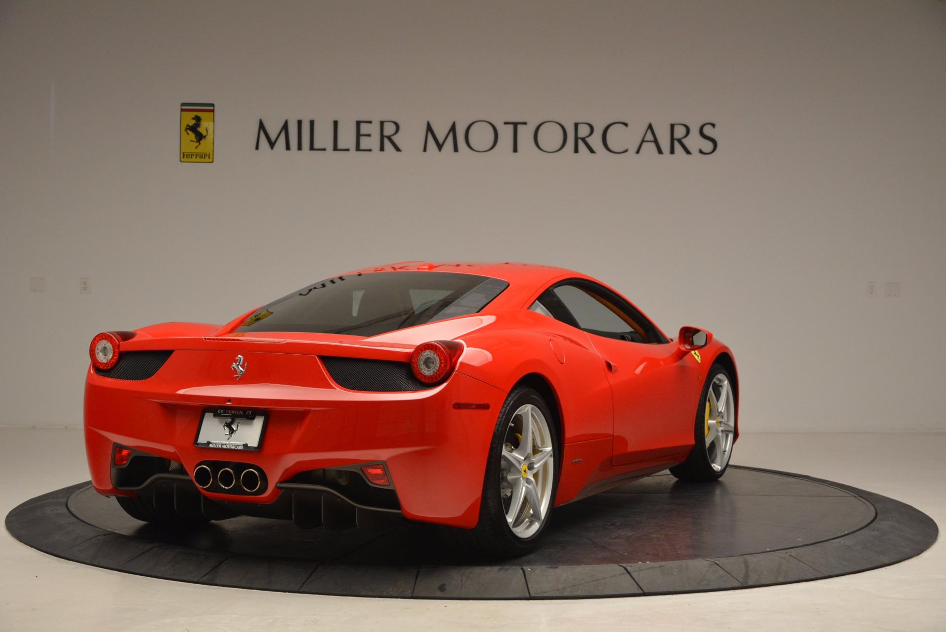 Used 2011 Ferrari 458 Italia  For Sale In Westport, CT 1054_p7