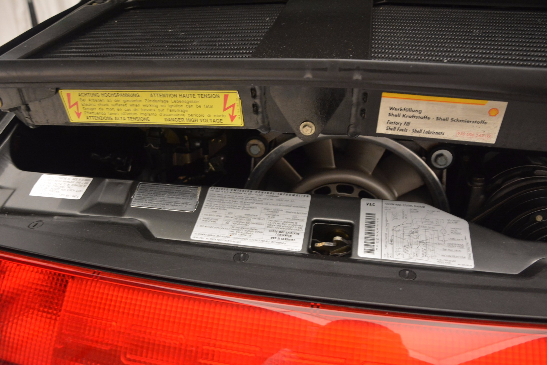Used 1996 Porsche 911 Turbo For Sale In Westport, CT 1058_p14