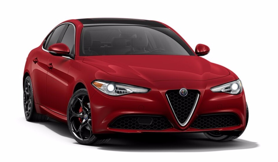 New 2017 Alfa Romeo Giulia Ti Q4 For Sale In Westport, CT 1064_main