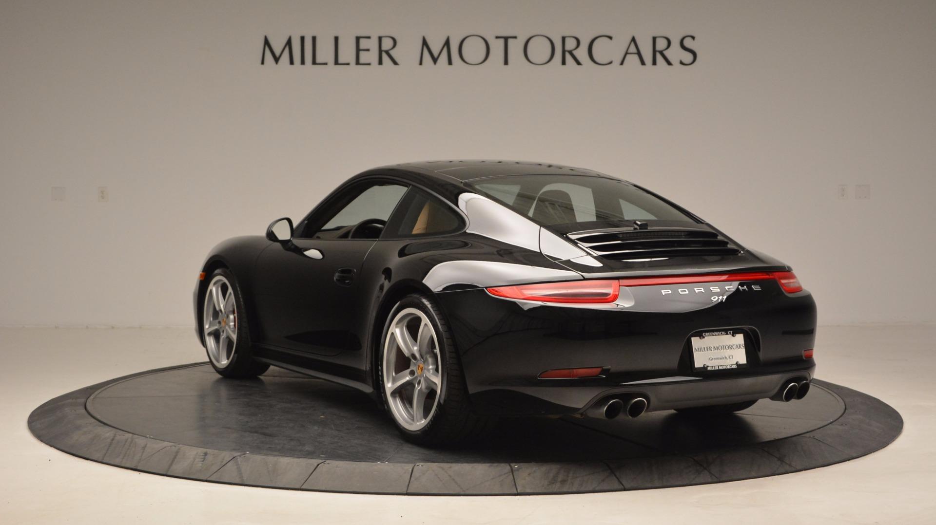Used 2014 Porsche 911 Carrera 4S For Sale In Westport, CT 1076_p5