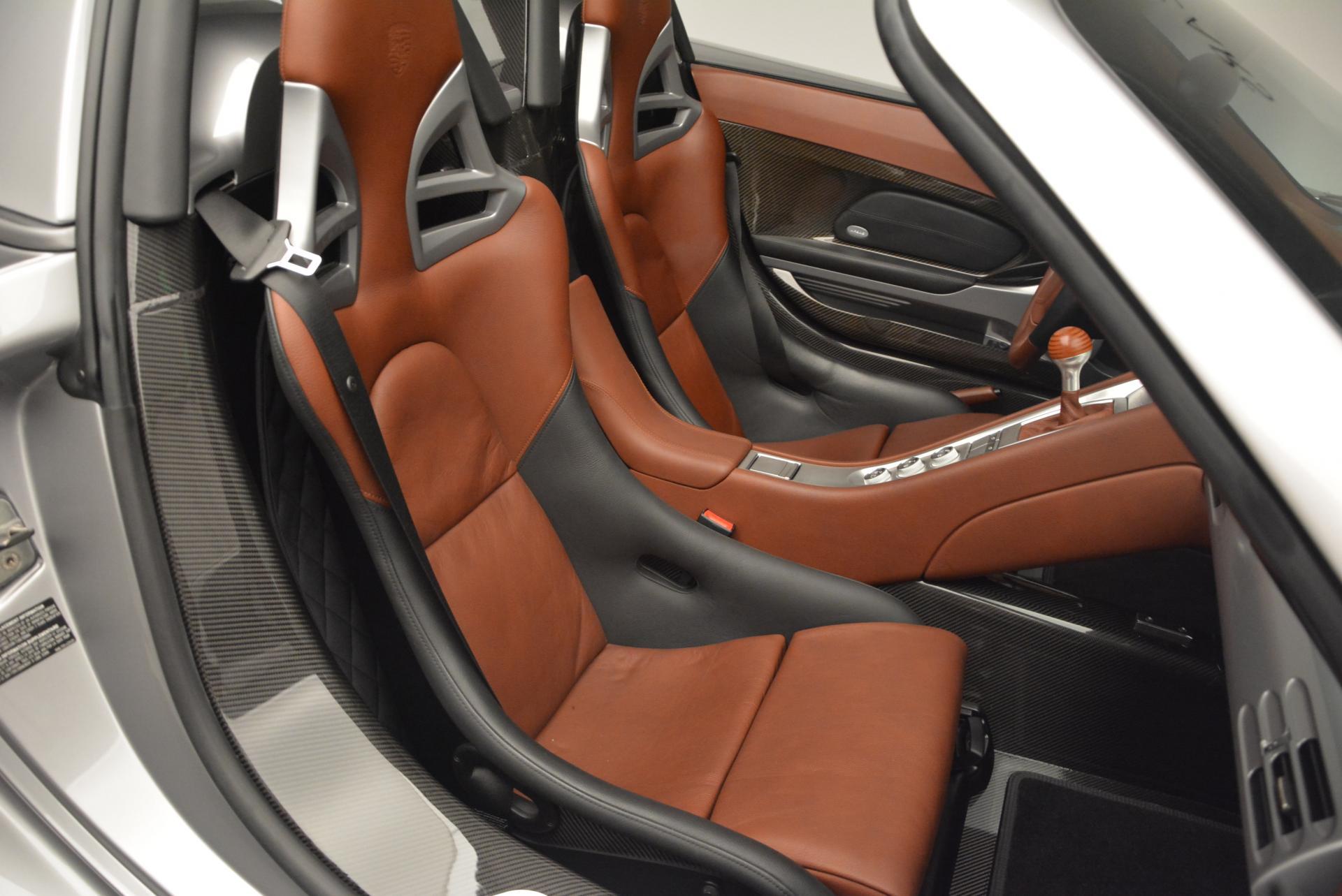 Used 2005 Porsche Carrera GT  For Sale In Westport, CT 108_p23