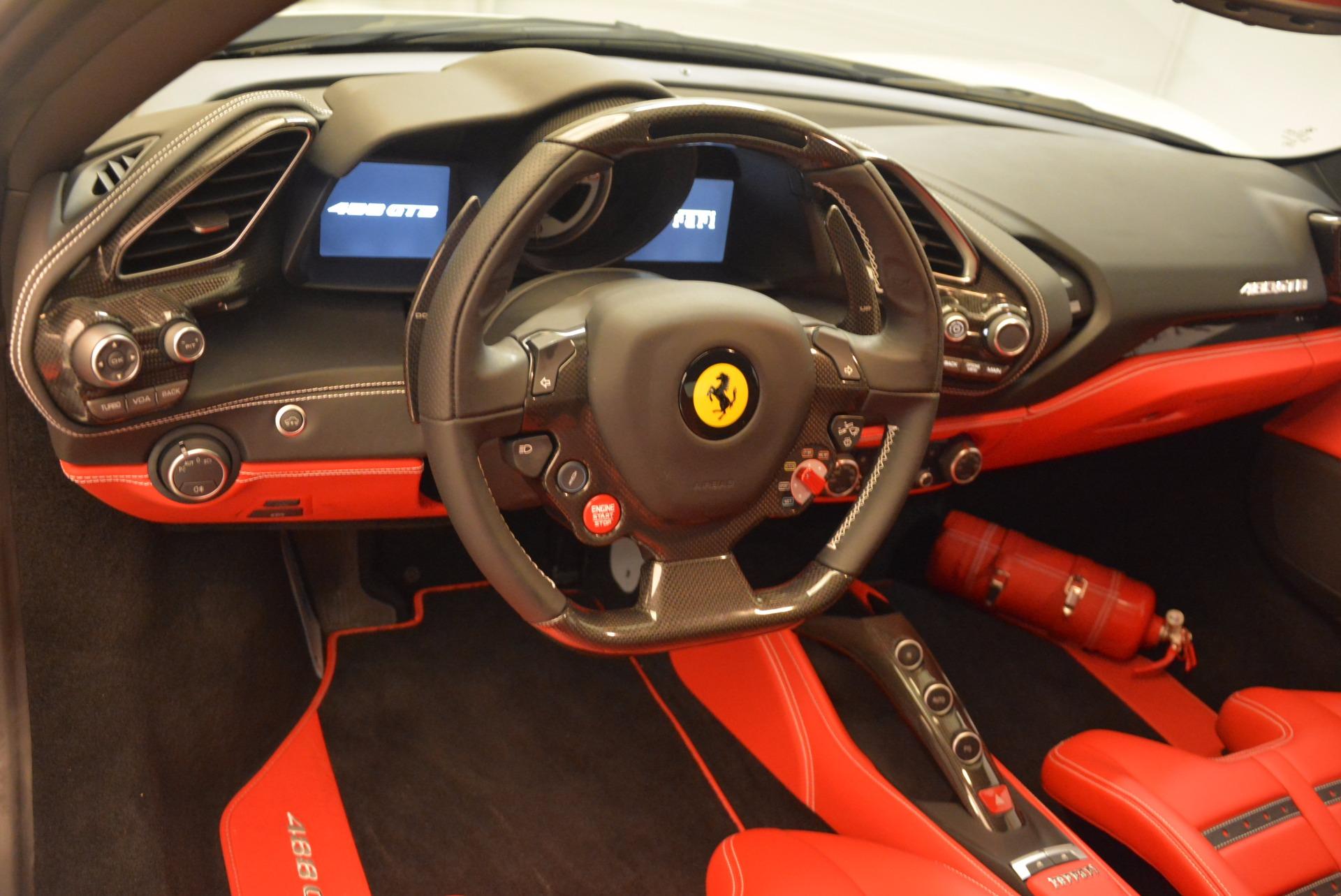 Used 2016 Ferrari 488 GTB  For Sale In Westport, CT 1080_p16