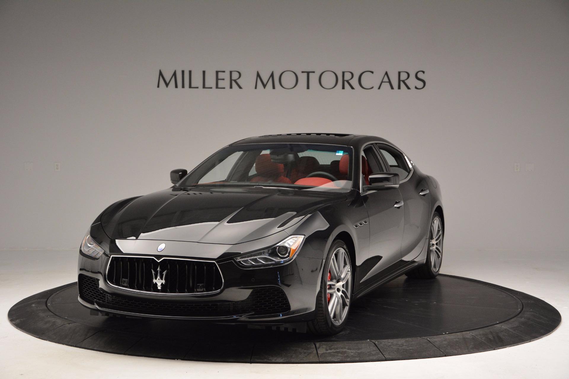 New 2017 Maserati Ghibli SQ4 For Sale In Westport, CT 1086_main