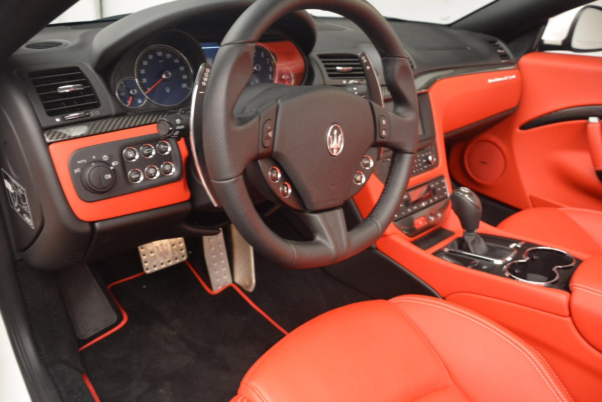 Used 2016 Maserati GranTurismo Sport For Sale In Westport, CT 1100_p34