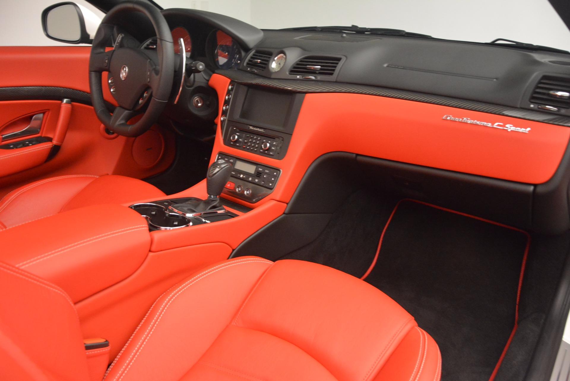 Used 2016 Maserati GranTurismo Sport For Sale In Westport, CT 1100_p38