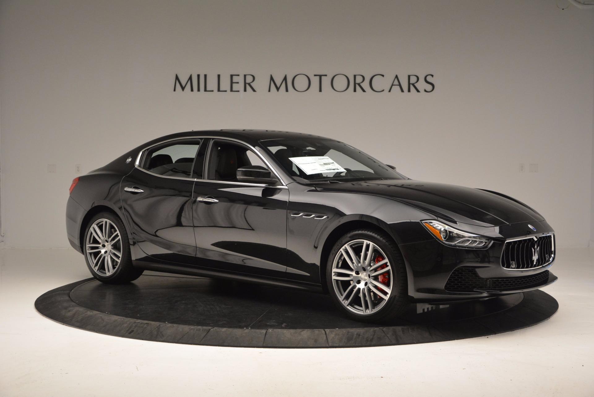 New 2017 Maserati Ghibli SQ4 For Sale In Westport, CT 1108_p10