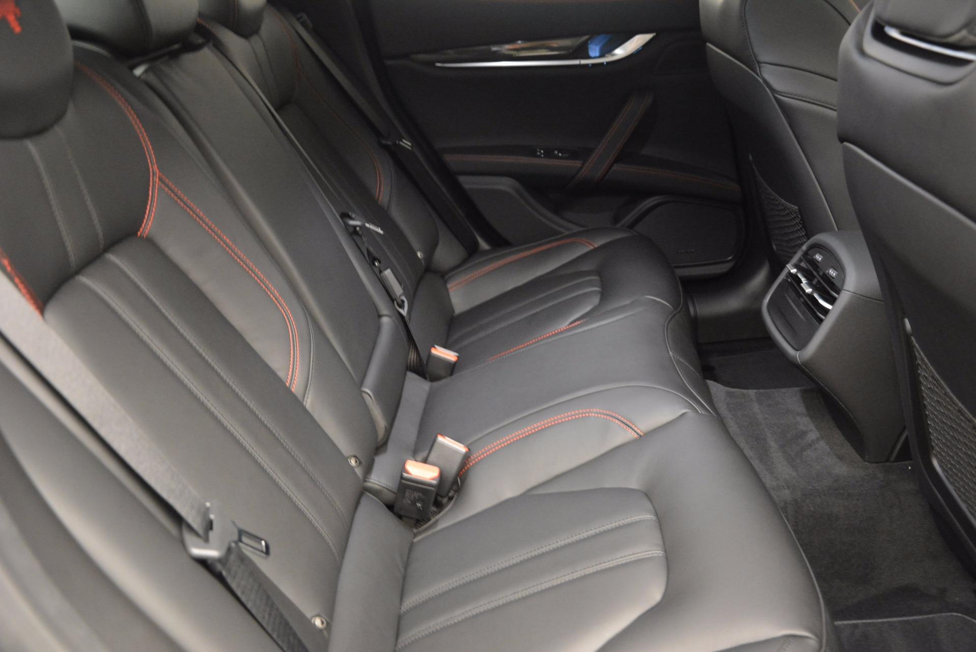 New 2017 Maserati Ghibli SQ4 For Sale In Westport, CT 1108_p24