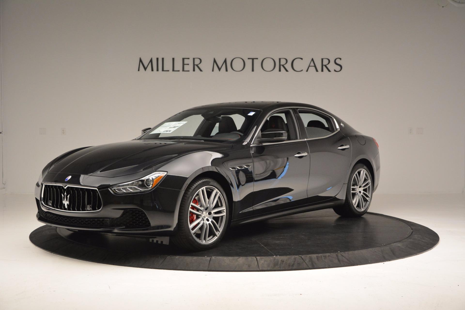 New 2017 Maserati Ghibli SQ4 For Sale In Westport, CT 1108_p2