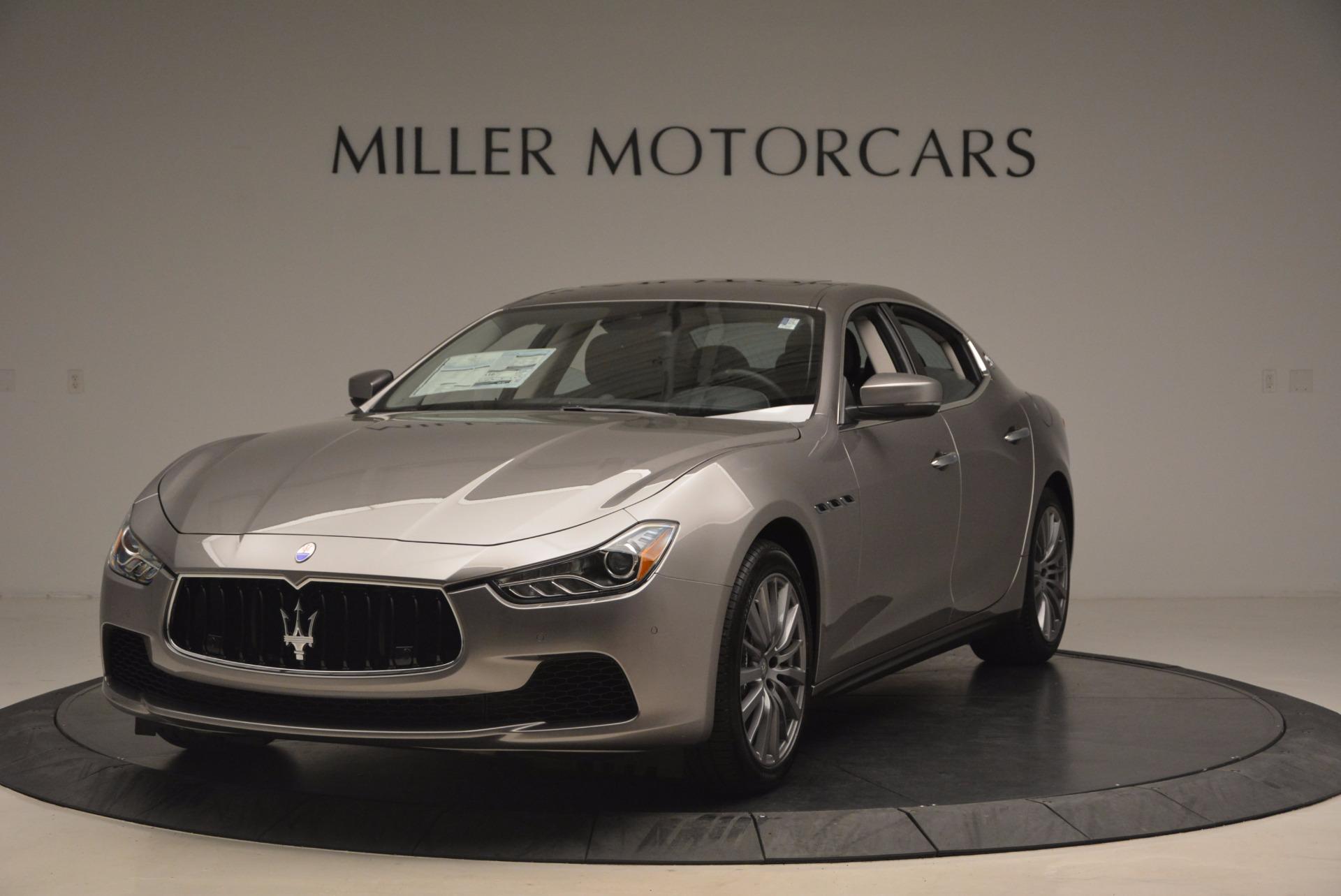 New 2017 Maserati Ghibli SQ4 For Sale In Westport, CT 1109_main