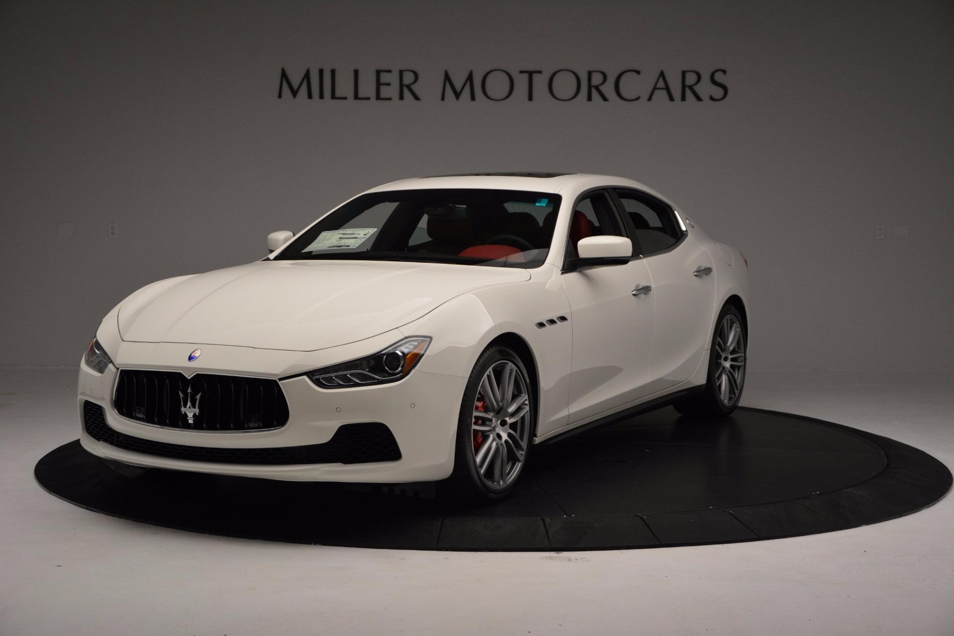 New 2017 Maserati Ghibli S Q4 For Sale In Westport, CT 1111_main