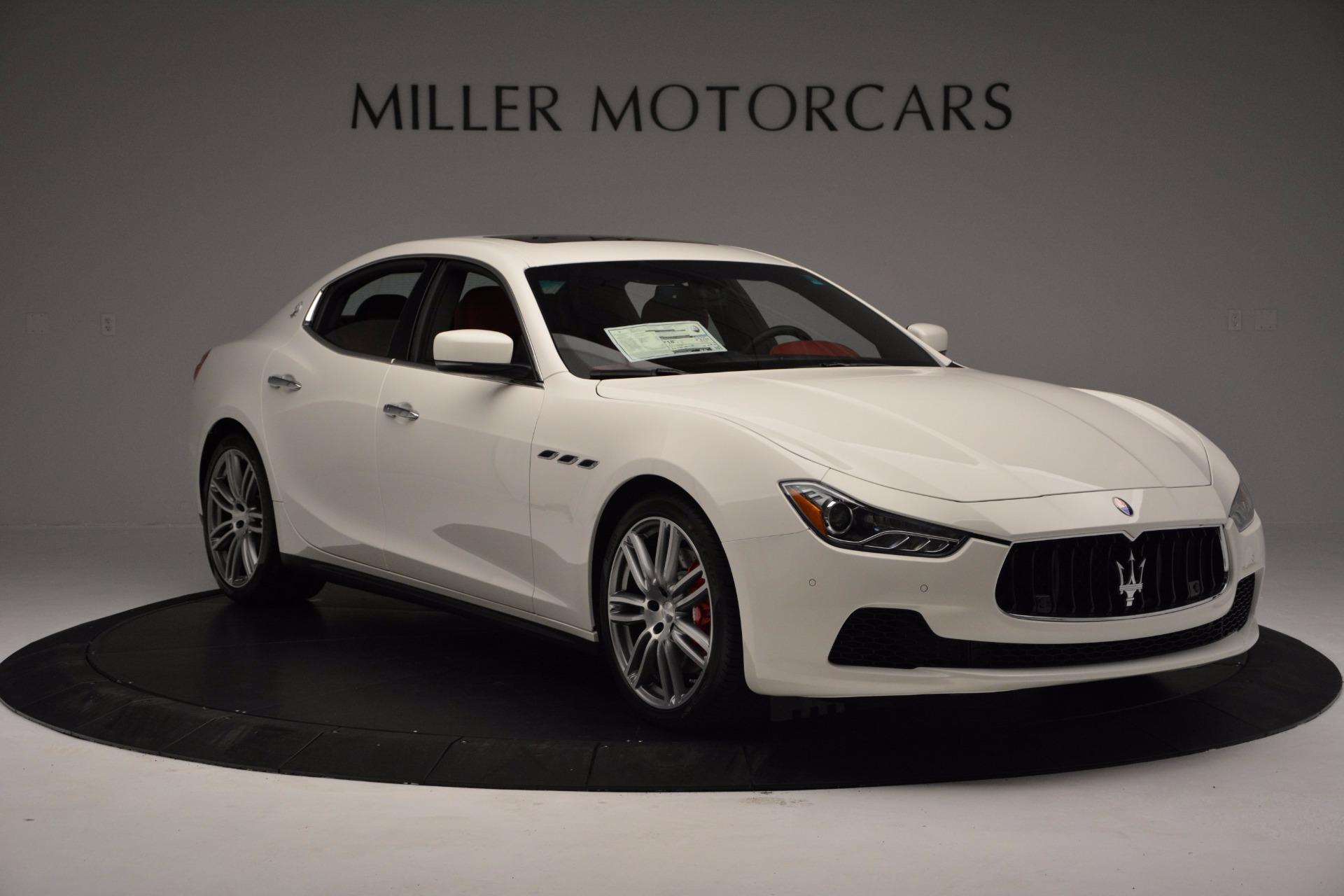 New 2017 Maserati Ghibli S Q4 For Sale In Westport, CT 1111_p11