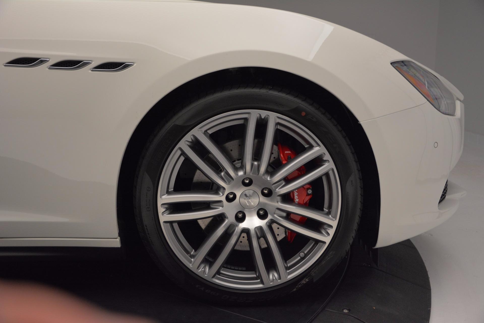 New 2017 Maserati Ghibli S Q4 For Sale In Westport, CT 1111_p27