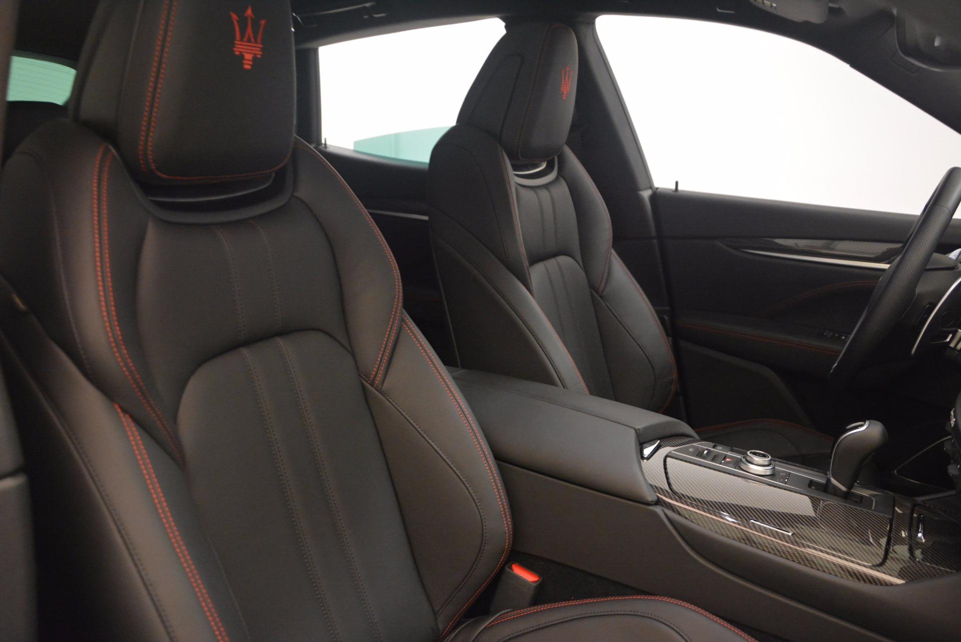 Used 2017 Maserati Levante S For Sale In Westport, CT 1112_p22