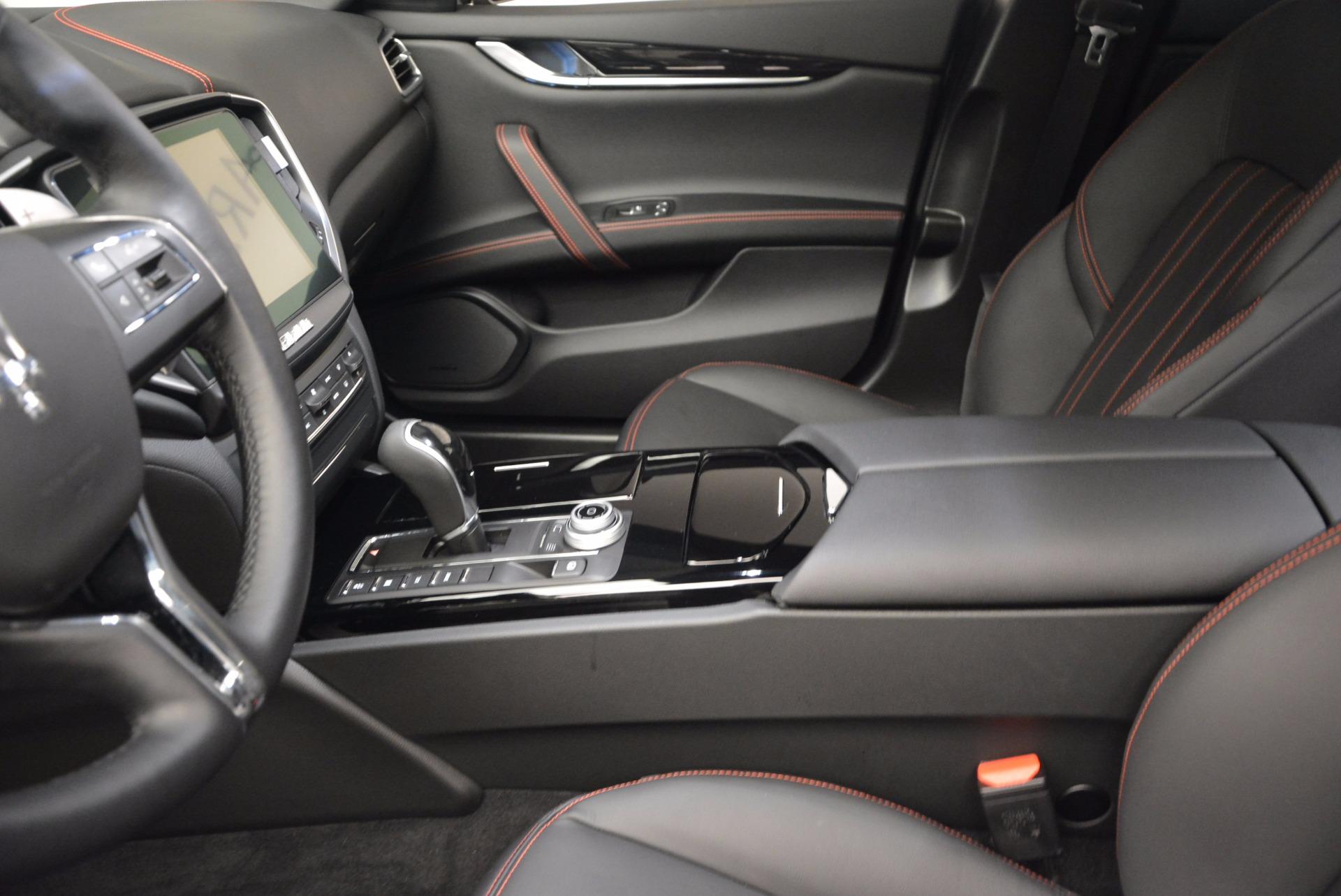 New 2017 Maserati Ghibli S Q4 For Sale In Westport, CT 1113_p13